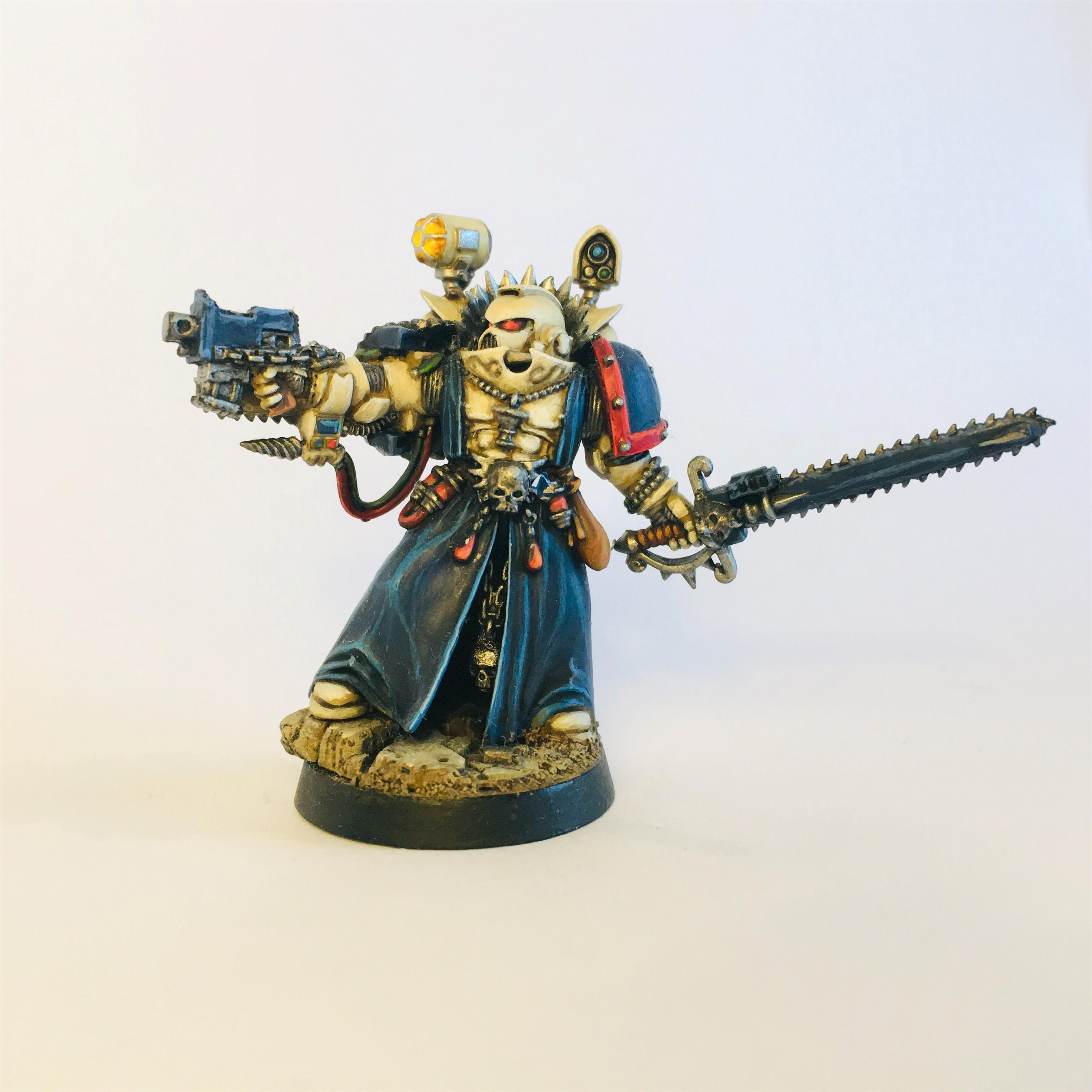Apothecary, Blood Angels, Brotherhood Of The Sword, Conversion, Sanguinary Priest, Space Marines