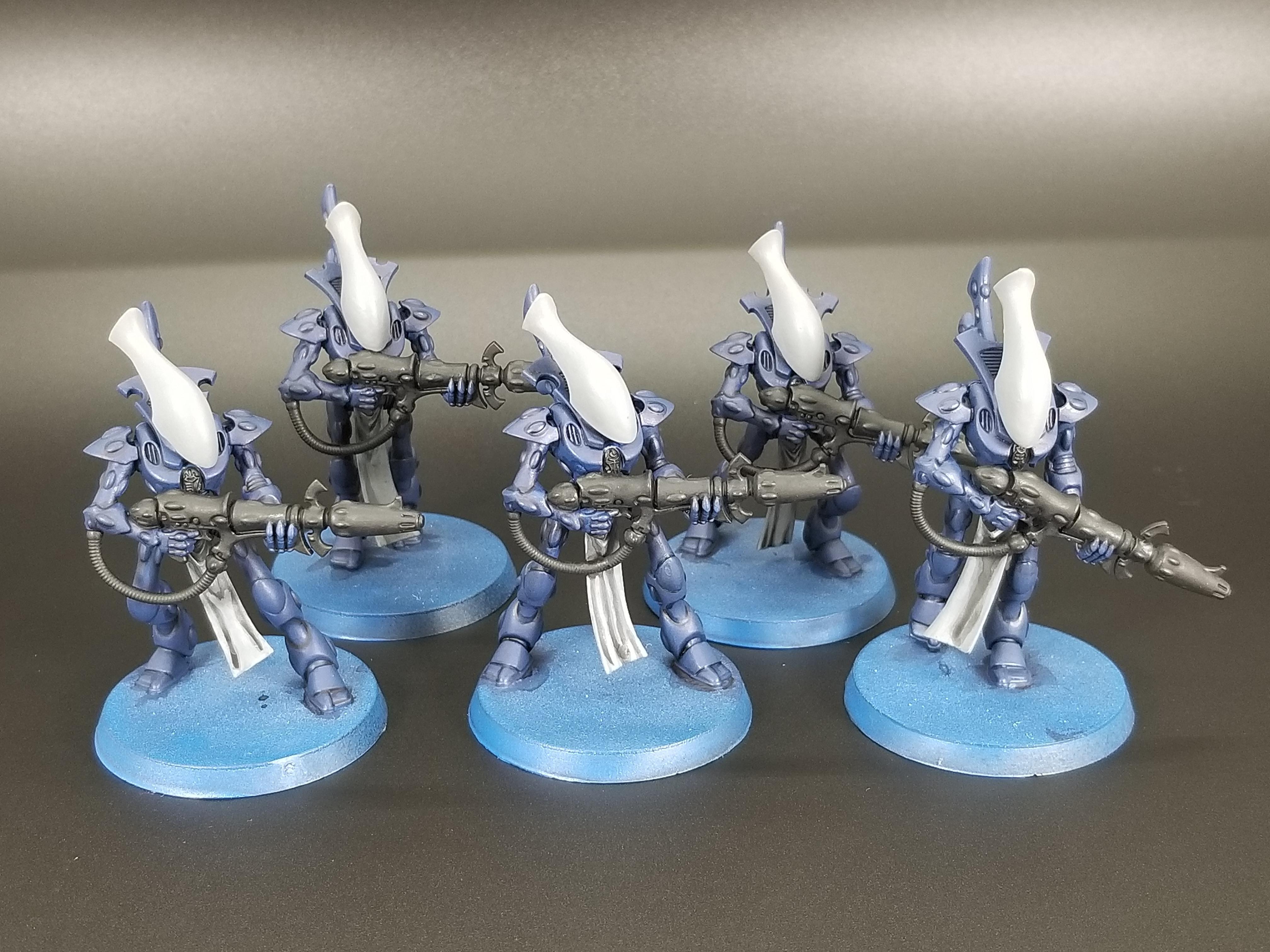Aeldari, Eldar, Work In Progress, Wraithguard