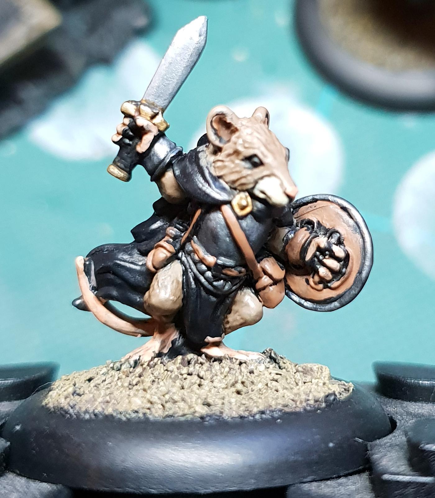 Mouse, Oathsworn, Work In Progress