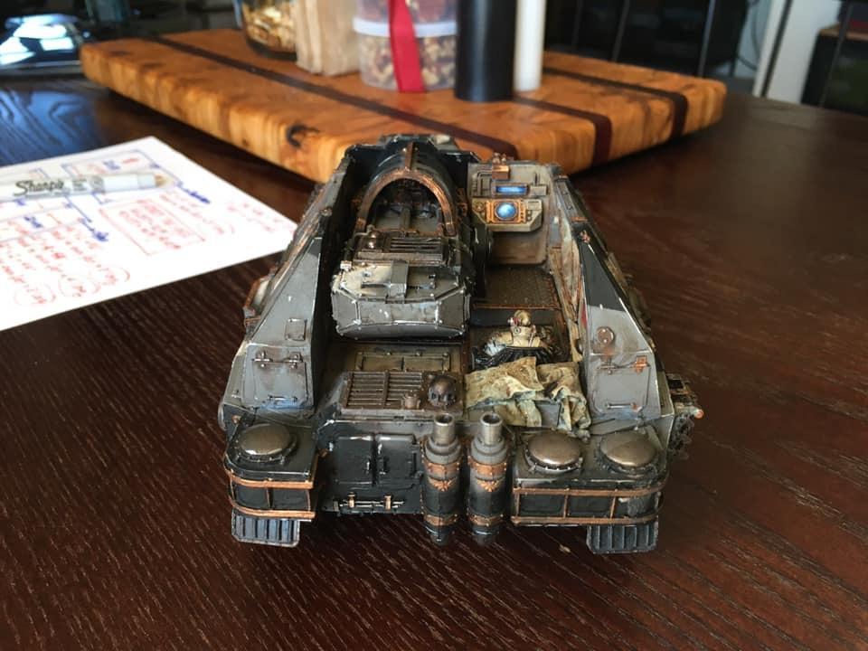 Armor, Customized, Tank Destroyer, Warhammer 40,000
