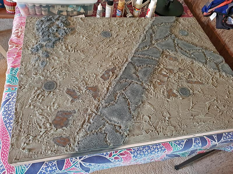Kill Team board, second attempt at the roadway