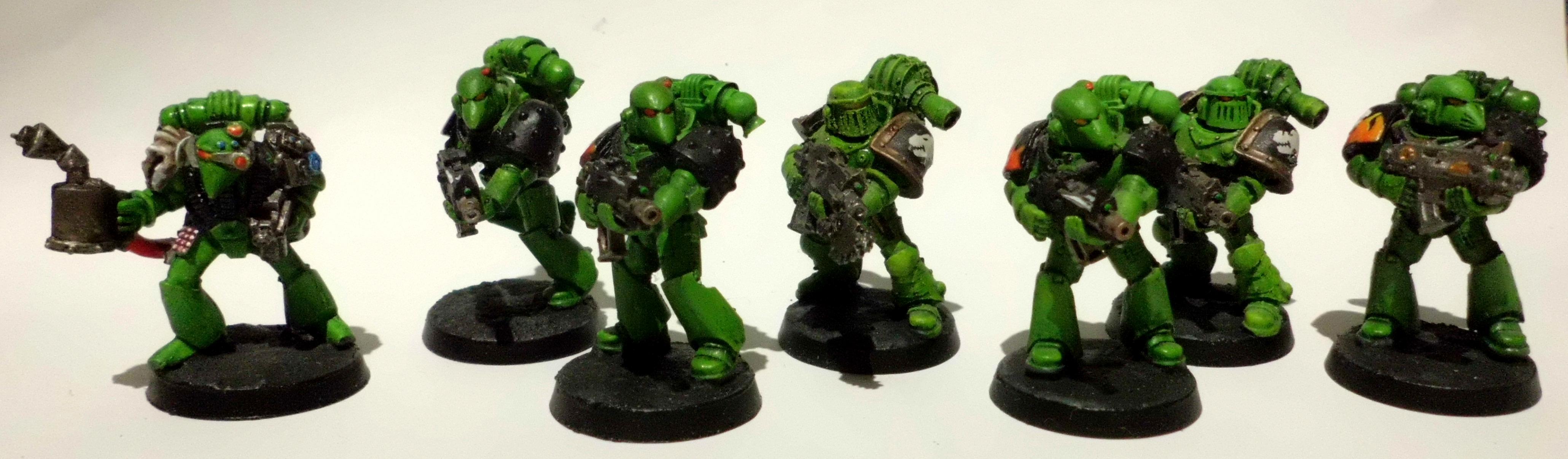 30k, Heavy Flamer, Horus Heresy, Isstvan 5, Legion Marines, Salamanders, Suspensor Web, Veteran Tactical Squad