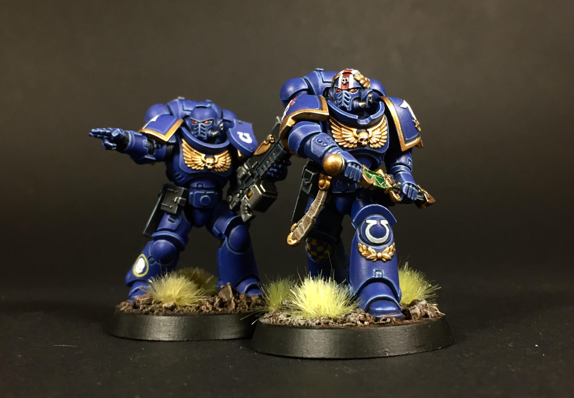 Lieutenant, Primaris, Space Marines, Ultramarines