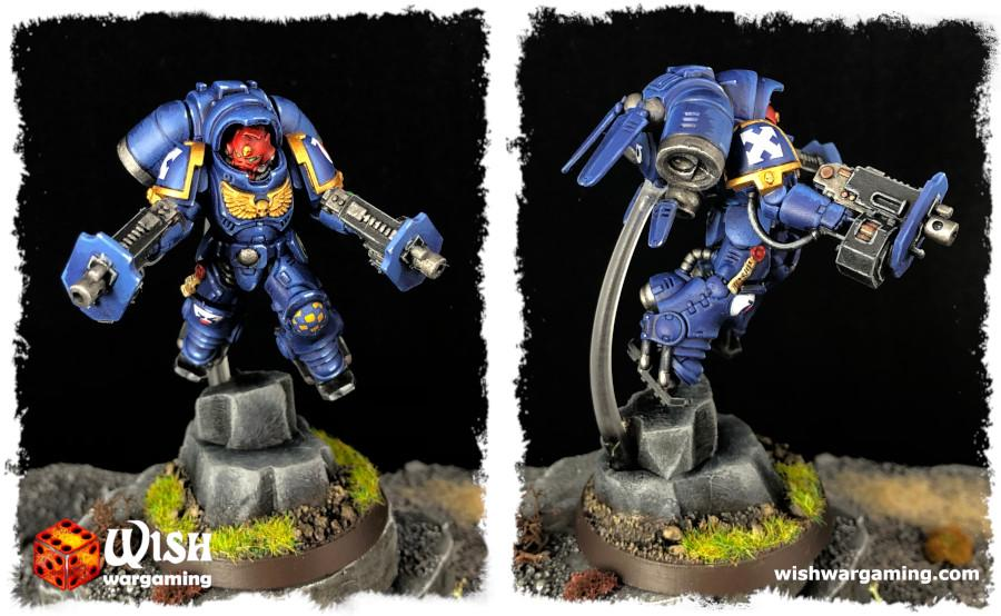 Space Marines Inceptor Sargeant