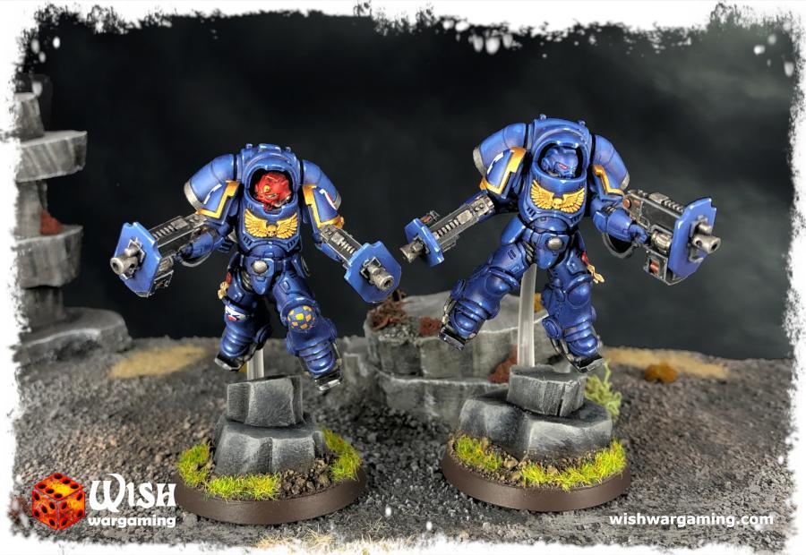 Interceptors, Primaris, Space Marines, Ultramarines