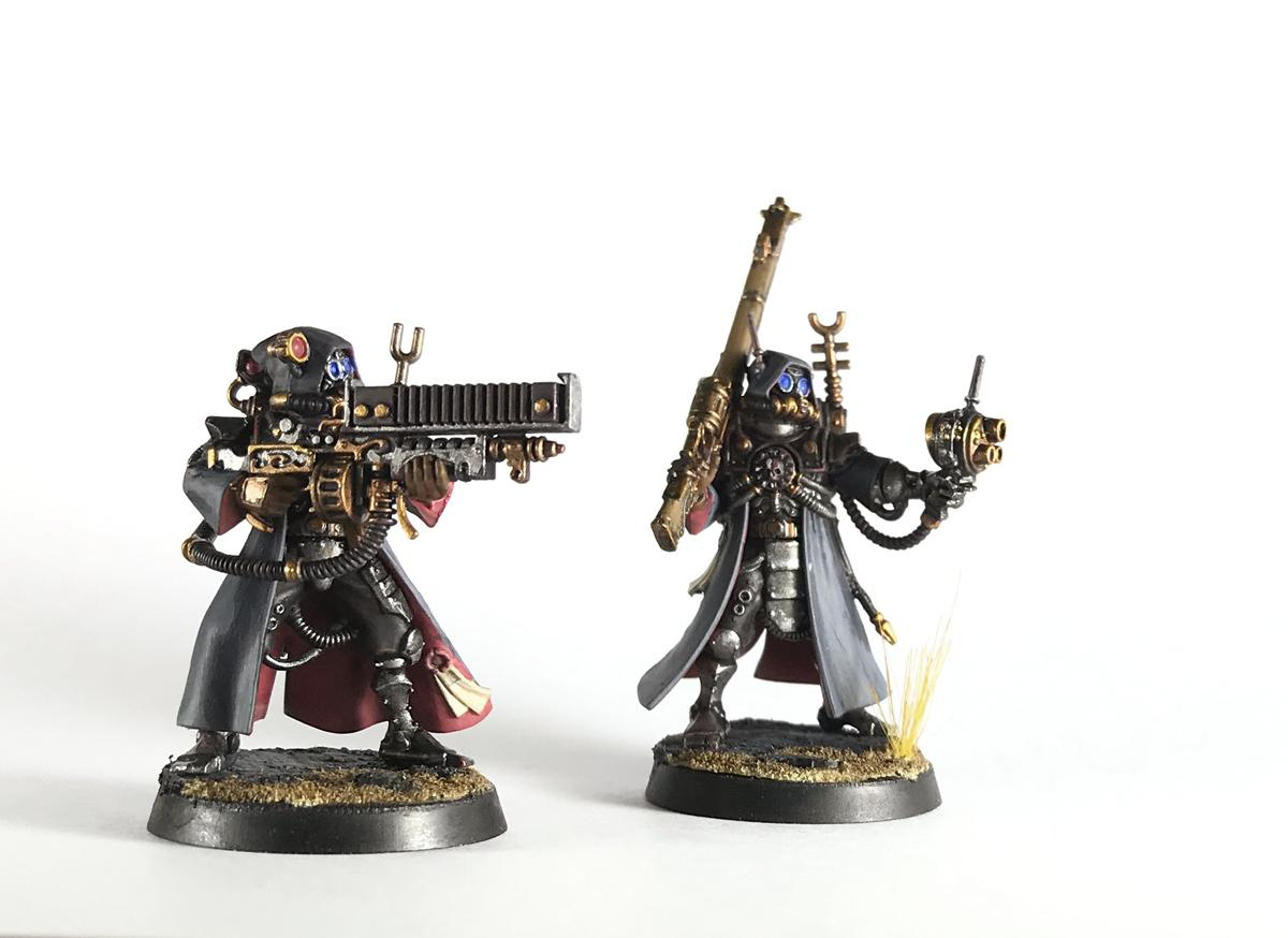 Adeptus Mechanicus, Admech, Arc Rifle, Galvanic Rifle, Kill Team, Omnispex, Rangers, Skitarii, Warhammer 40,000