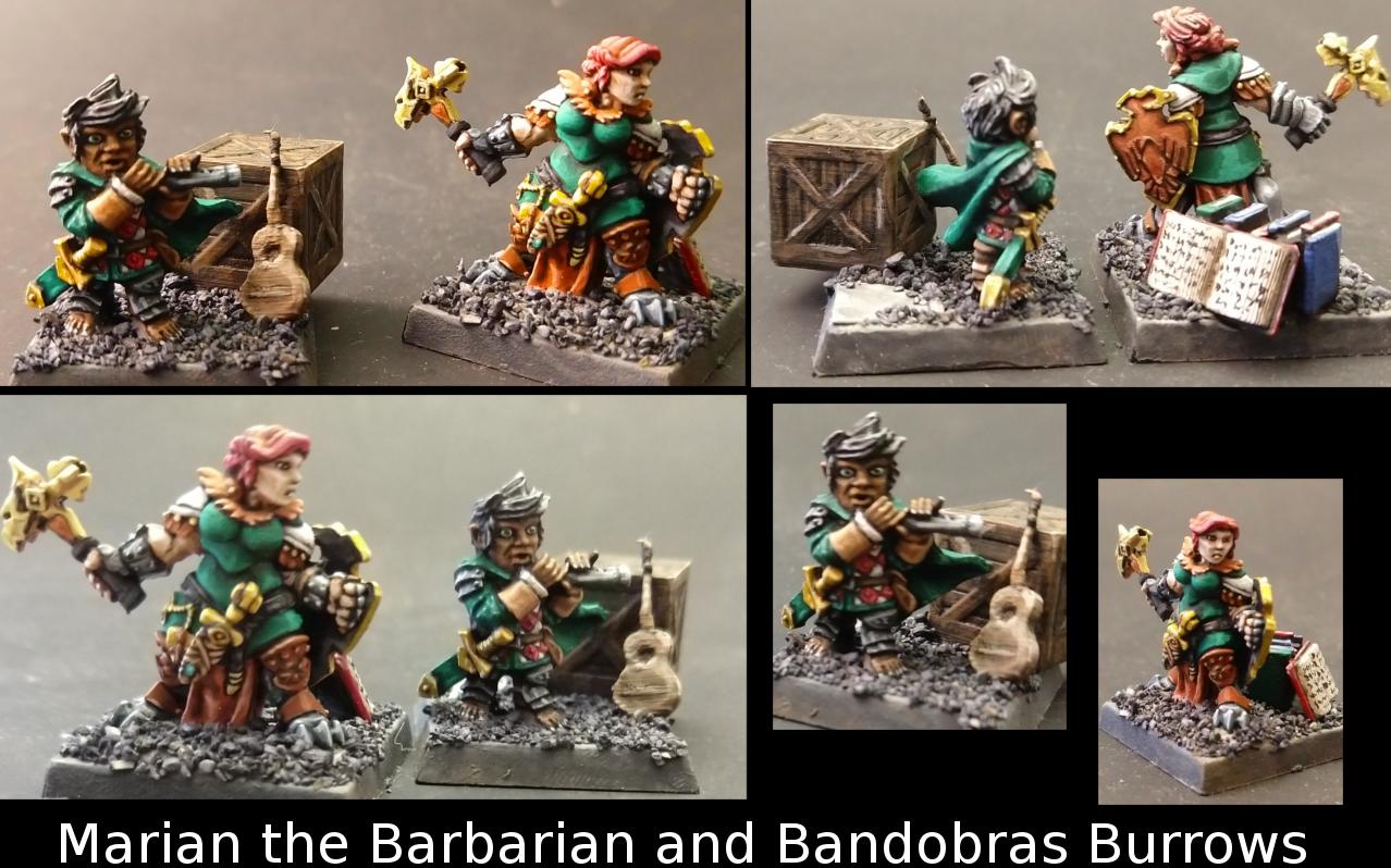 Dungeons And Dragons, Dwarves, Halflings