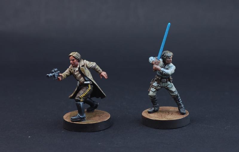Han Solo, Luke Skywalker, Star Wars Legion