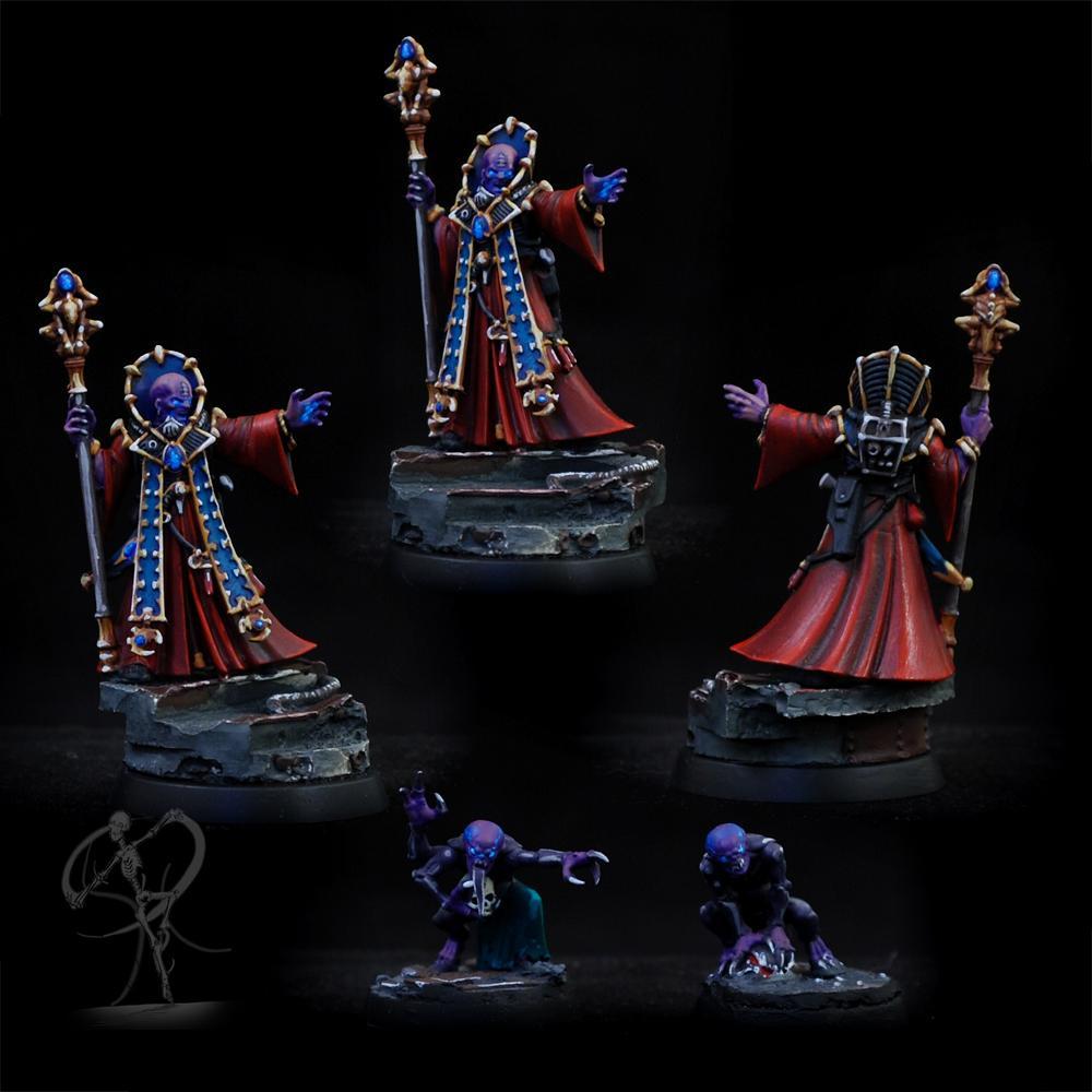 Genestealer, Genestealer Cult, Non-Metallic Metal, Object Source Lighting, Science-fiction, Warhammer 40,000