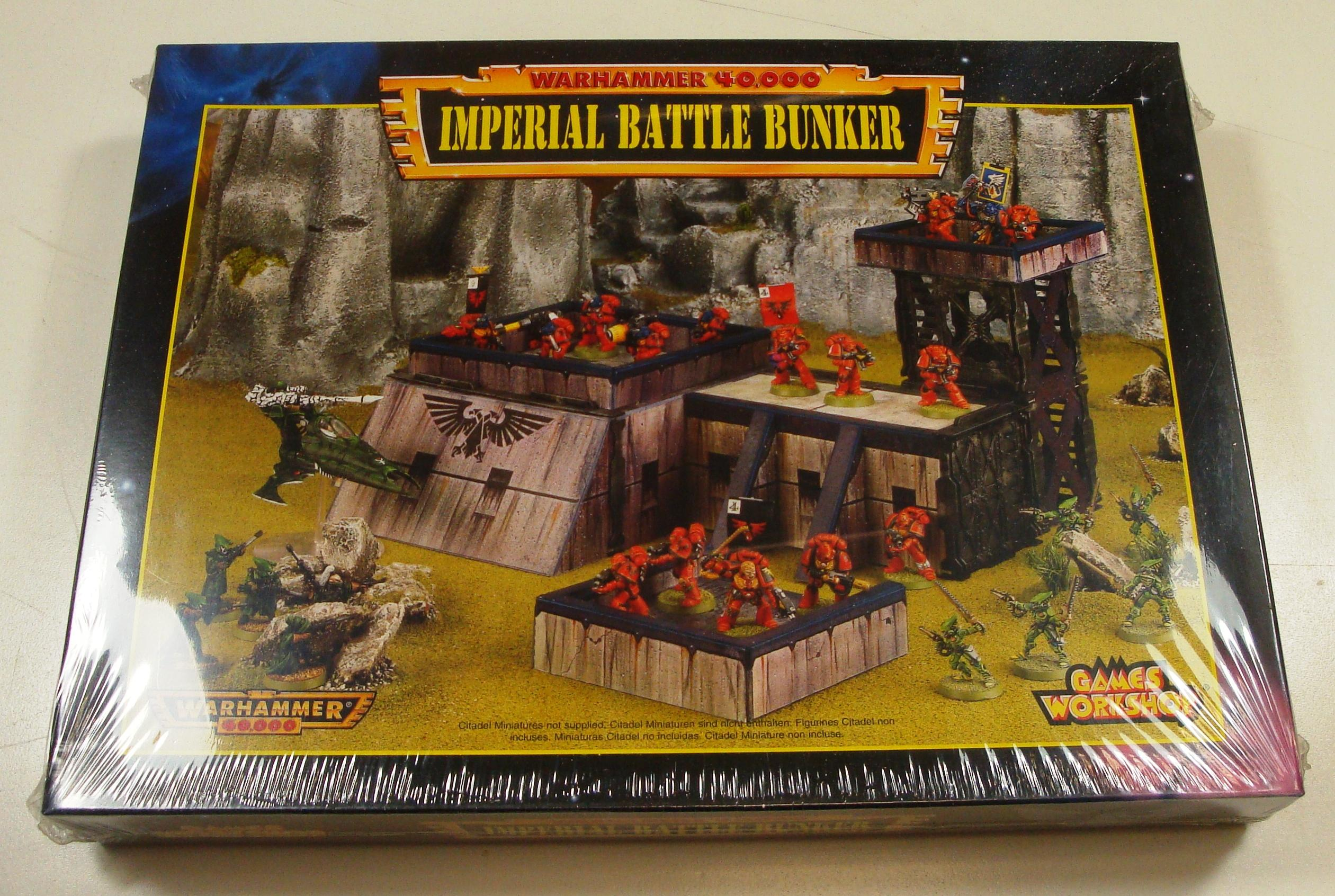 Adeptus Astartes, Astartes, Battle Bunker, Blood Angels, Buildings, Dreadnought, Imperial, Imperial Fists, Imperial Guard, Predator, Razorback, Rhino, Rogue Trader, Sale, Space Marines, Wh40k Terrain, Whirlwind