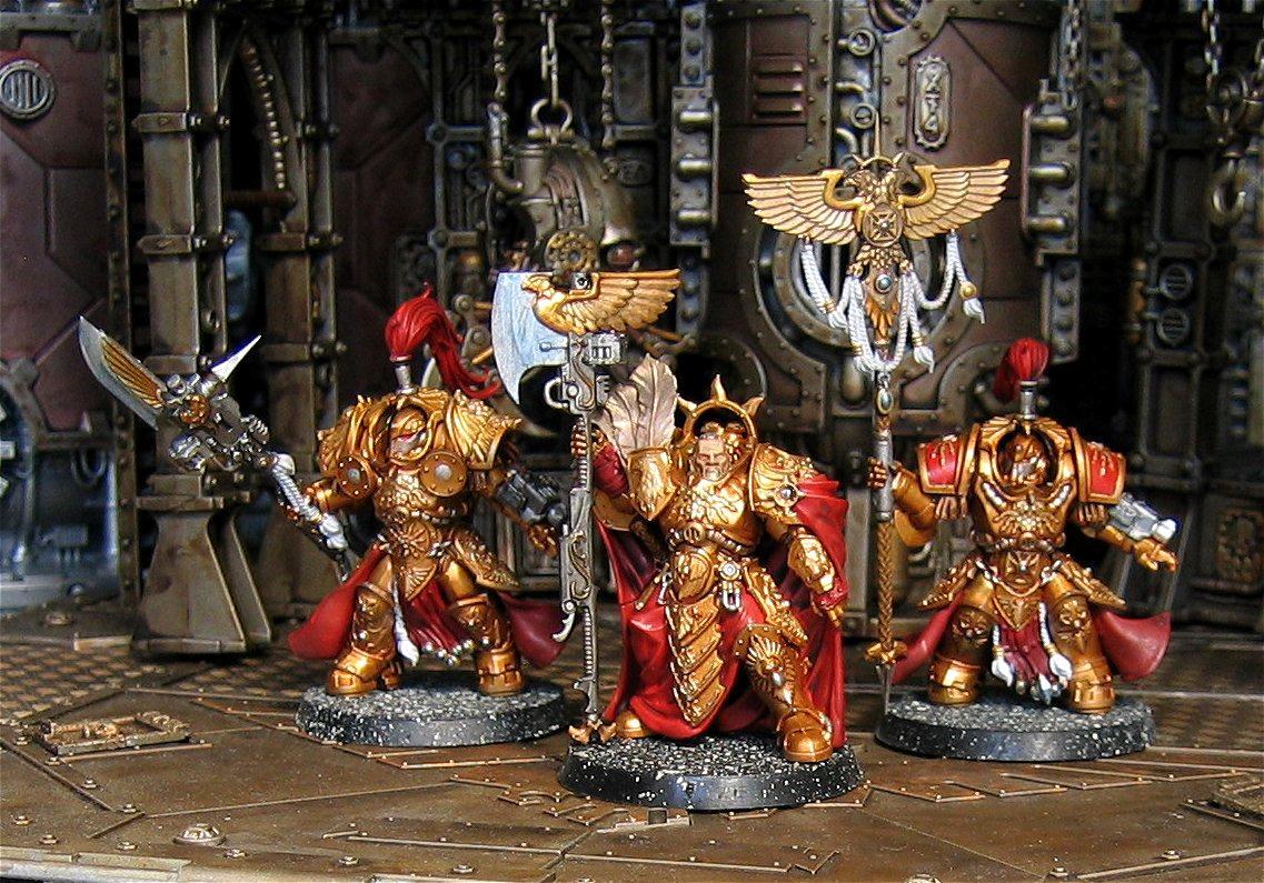 Adeptus Custodes, Terminator Armor