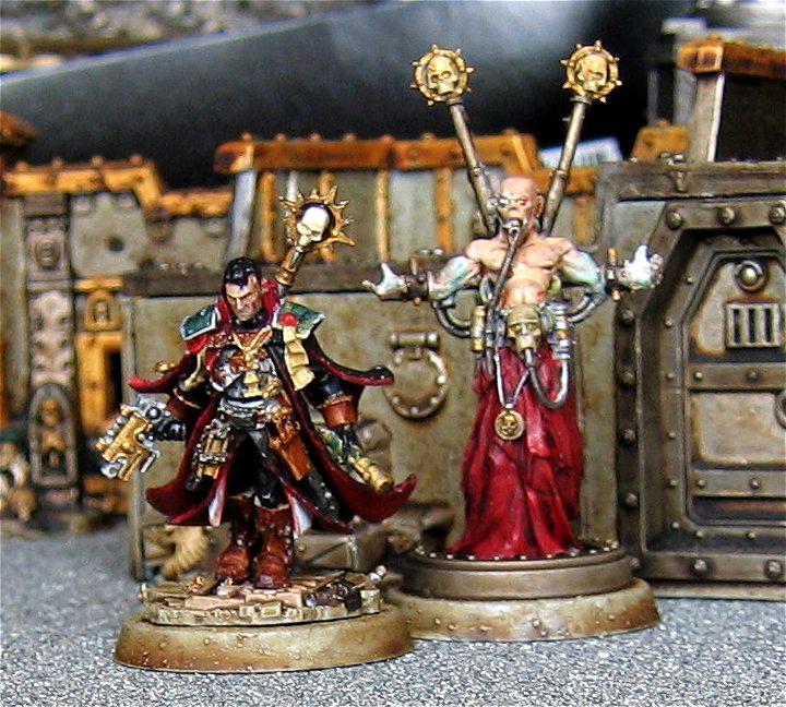 Daemon Host, Eisenhorn, Inquisitor, Pskyer