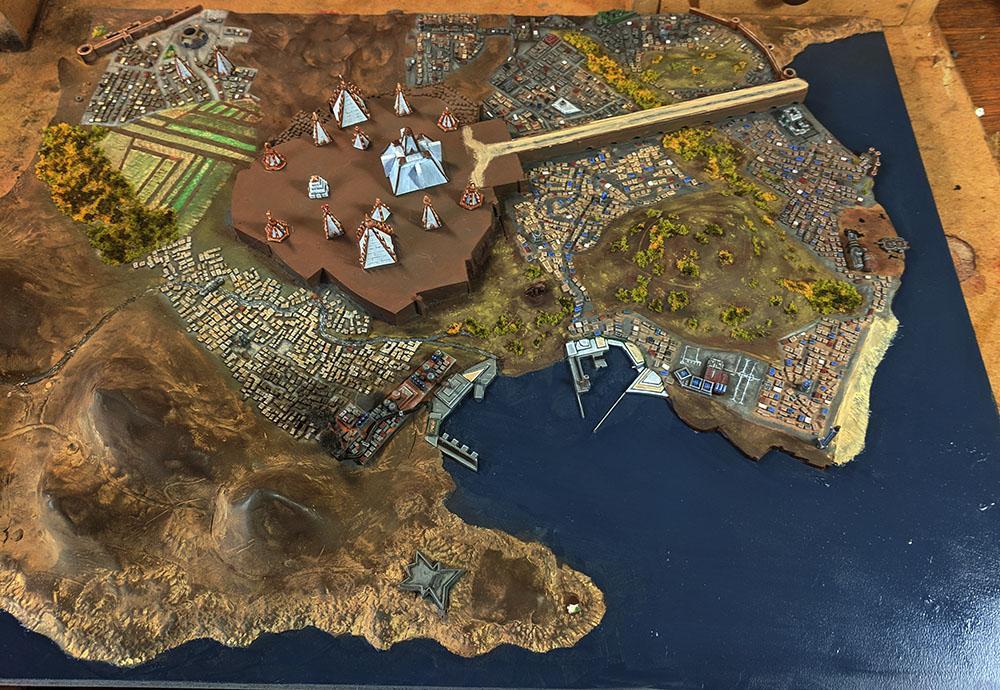 Board, Diorama, Prospero, Tizca