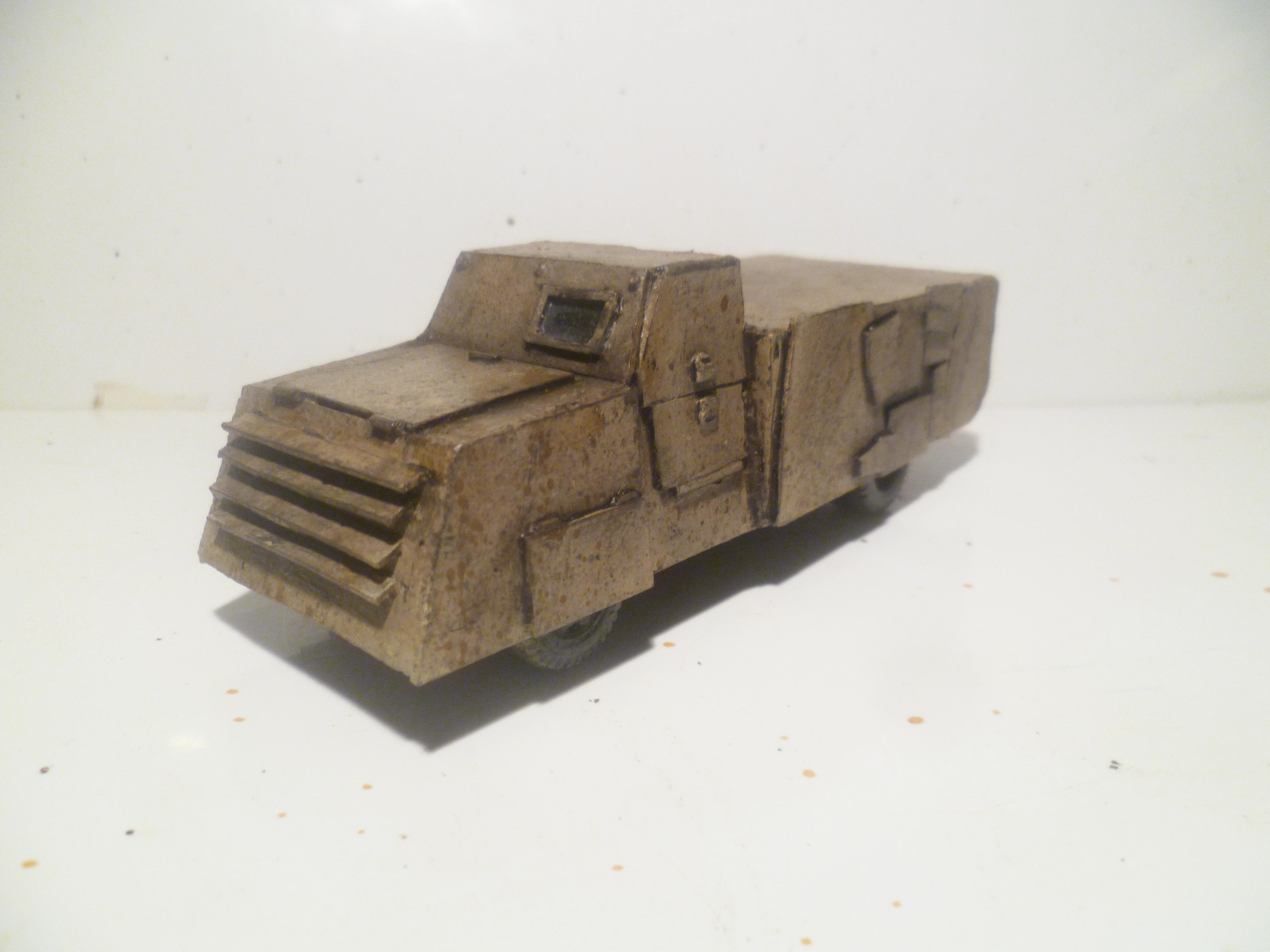 28mm, Armoured, Conversion, Desert, Ied, Improvised, Insurgent, Metal, Middle East, Modern, Scrap, Truck, Vbied, Vehicle