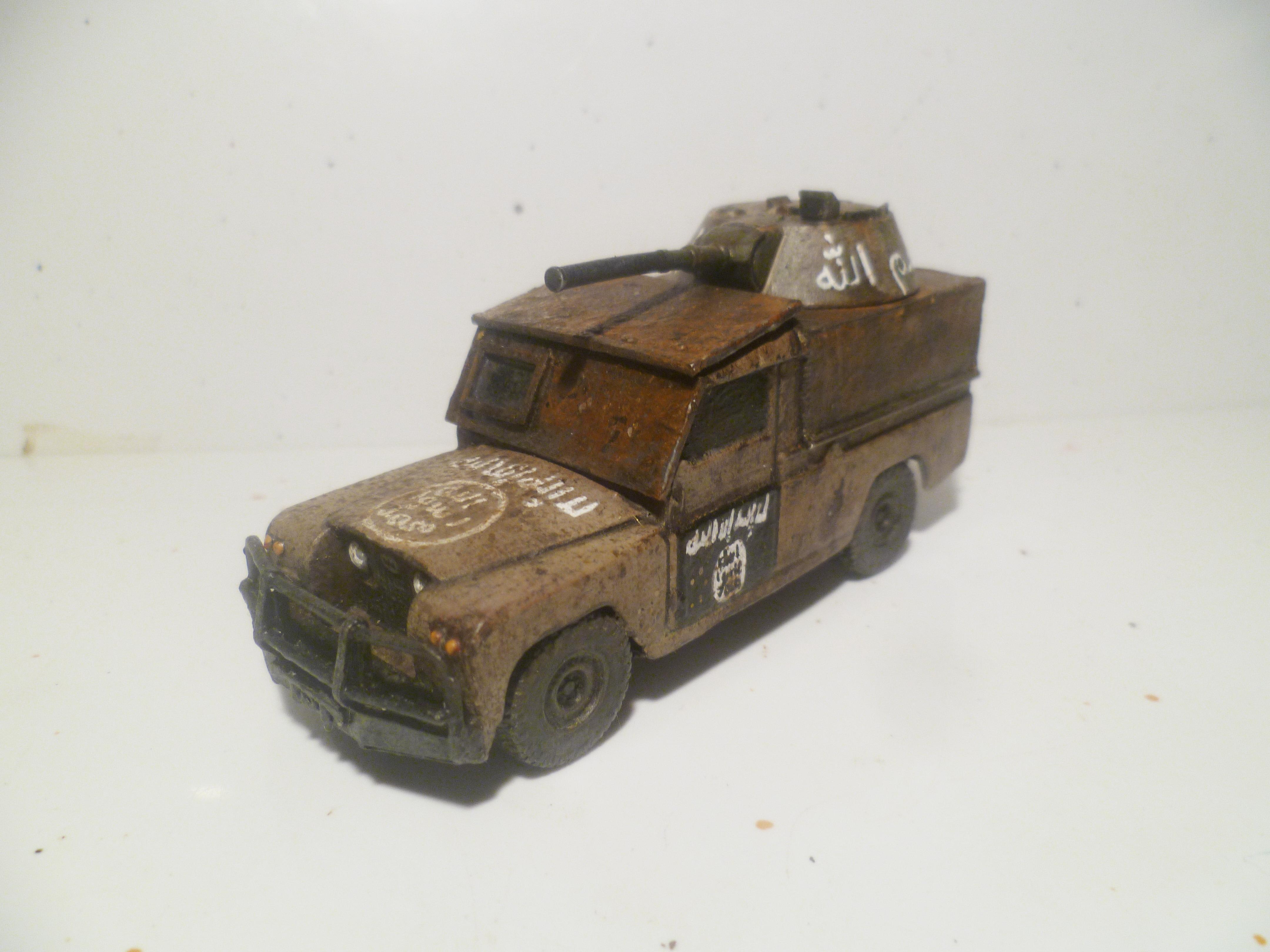 28mm, Arab, Bmp, Conversion, Desert, Insurgent, Middle East, Modern, Soviet, Technical, Vehicle
