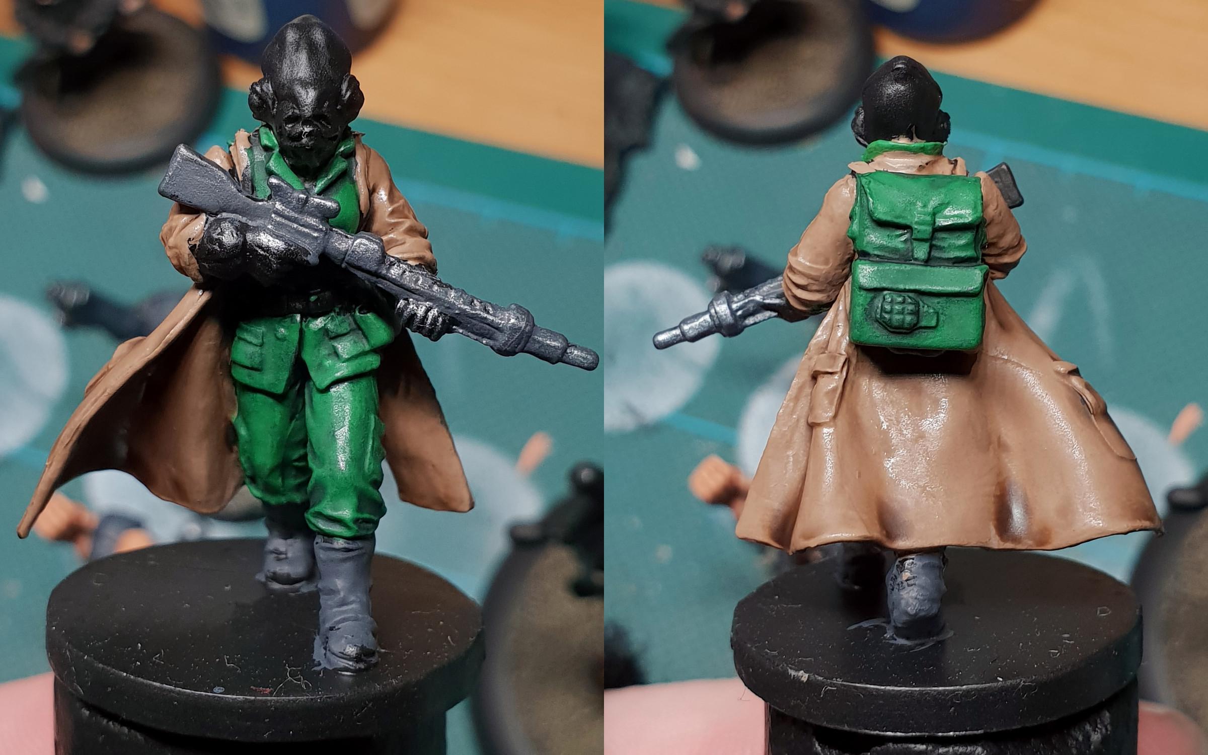 Imperial Assault, Mon Calamari, Rebel, Work In Progress
