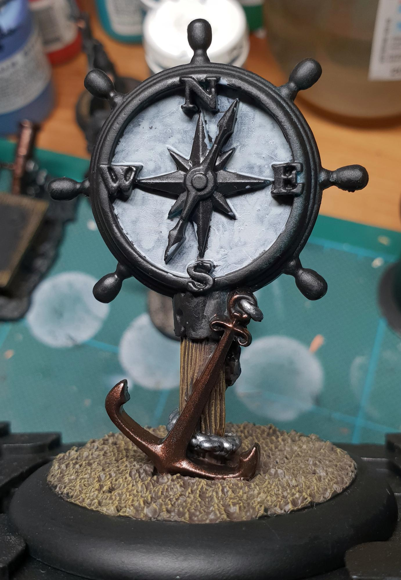 Goal Marker, Guild Ball, Work In Progress