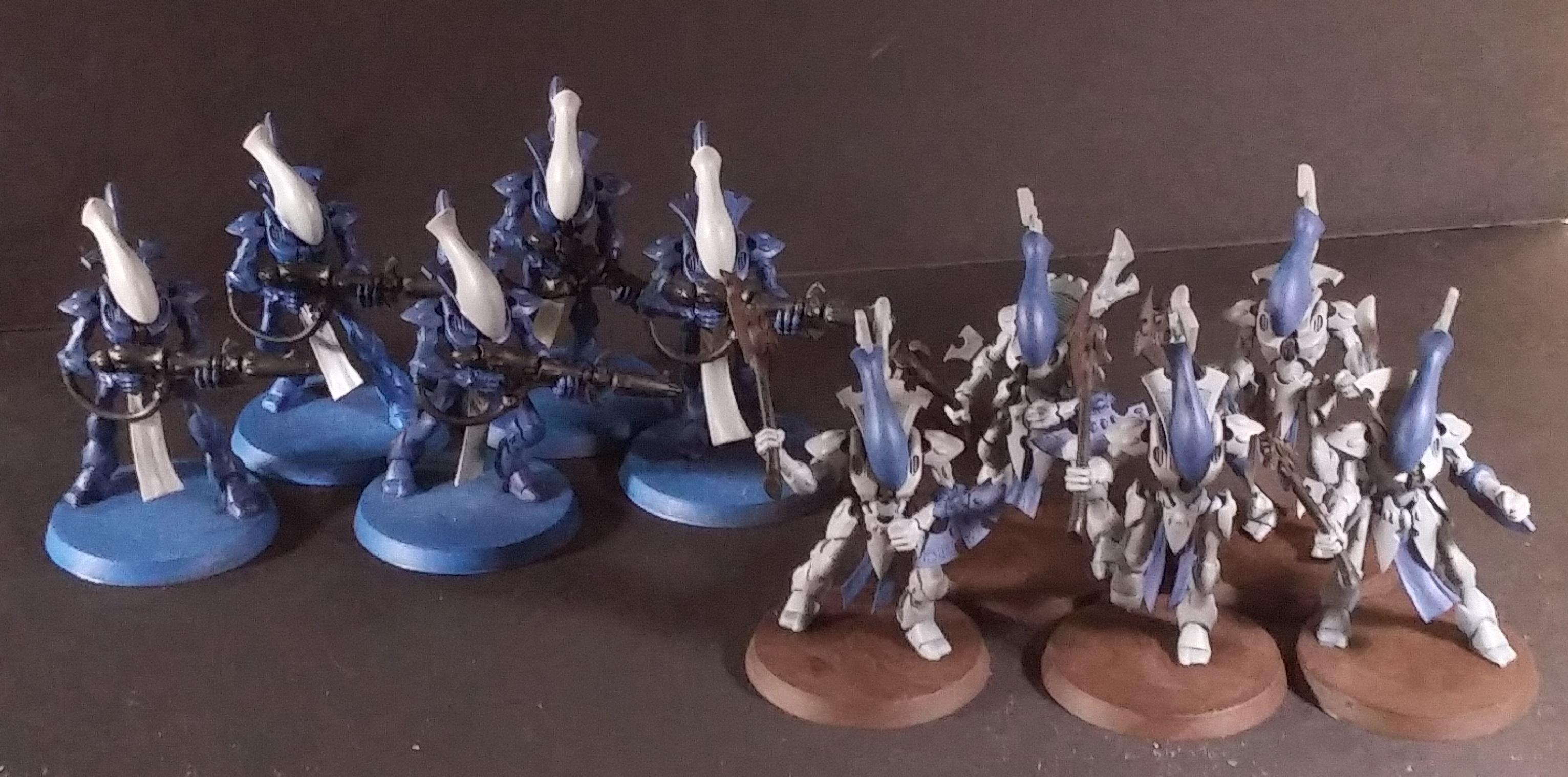 Aeldari, Eldar, Work In Progress, Wraithblade, Wraithguard
