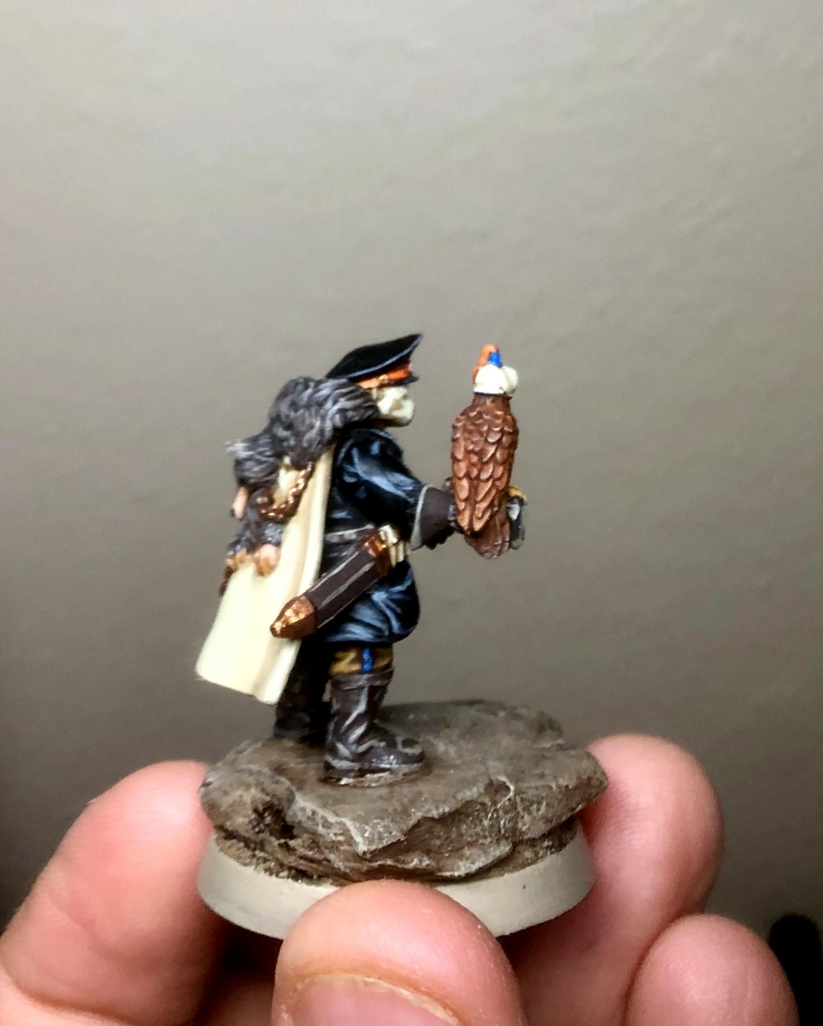Drop Troops, Force Commander
