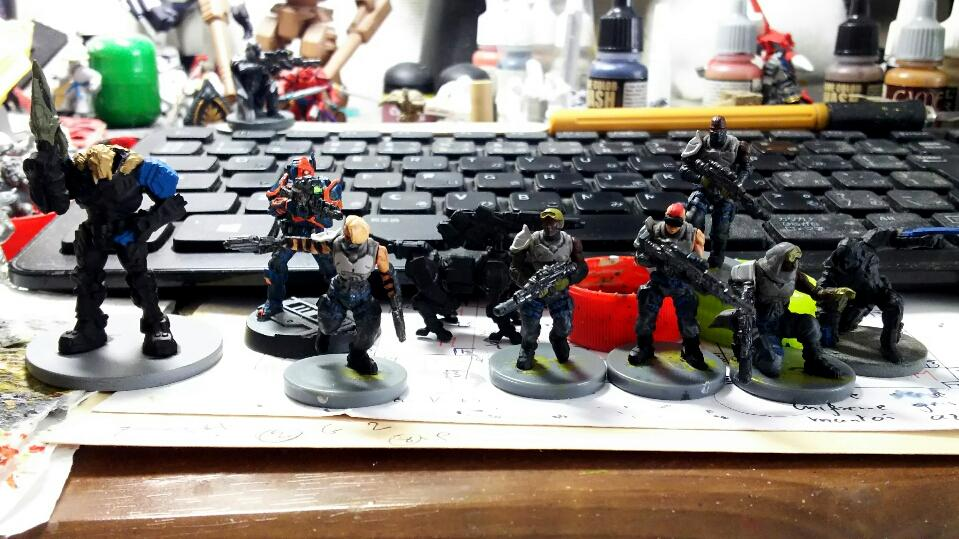 Deadzone, Enforcers, Warpath, Work In Progress