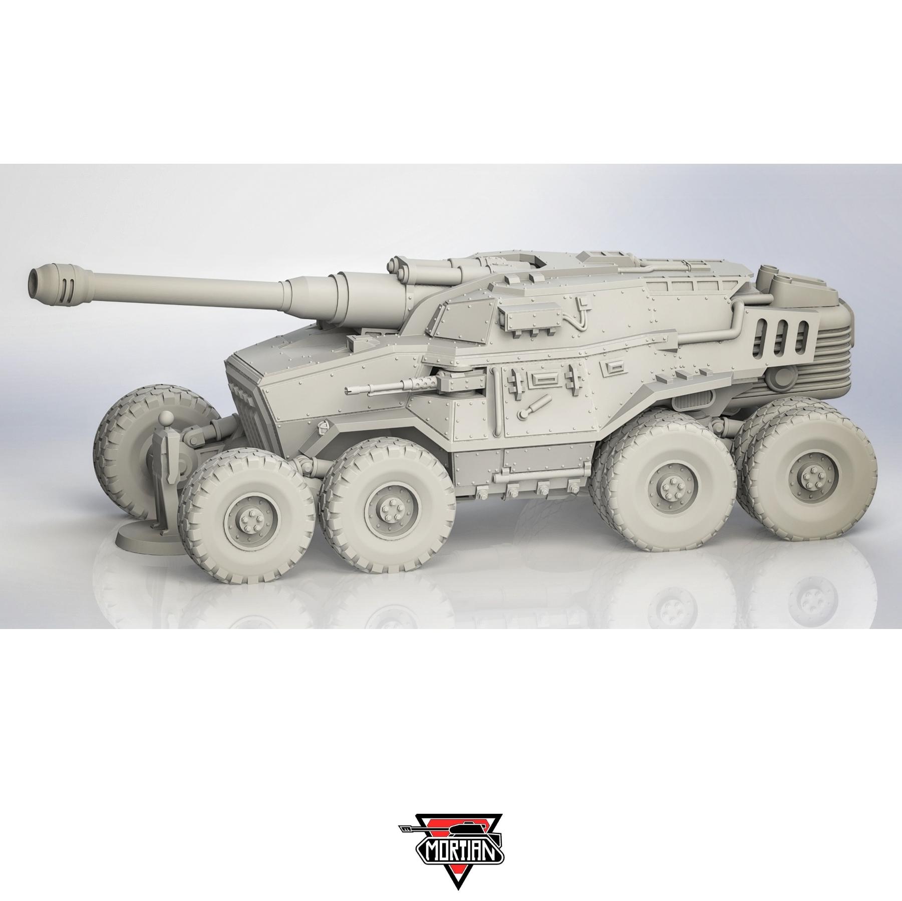 Astra Militarum, Basilisk, Chimera, Imperial Guard, Mortian, Tank