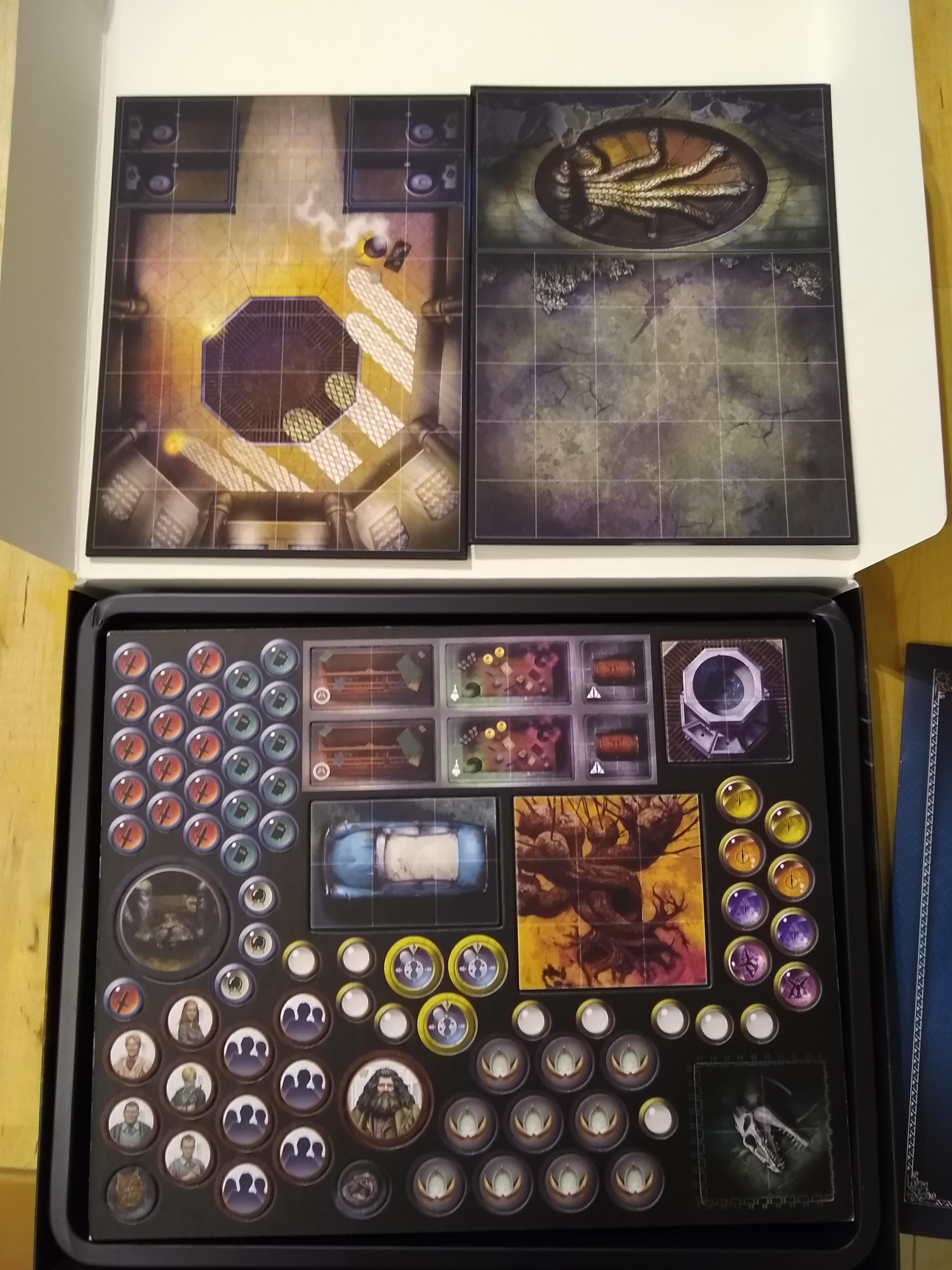 Chamber tokens and boards b