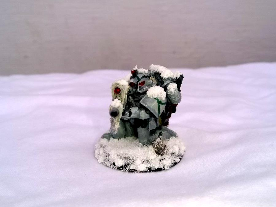 Camouflage, Forge World, Forlorn Hope, Games Workshop, Homebrew Chapter, Imperium Of Man, Kitbash, Luna Wolves, Snow, Space Marines, Warhammer 40,000, White Death, Winter War