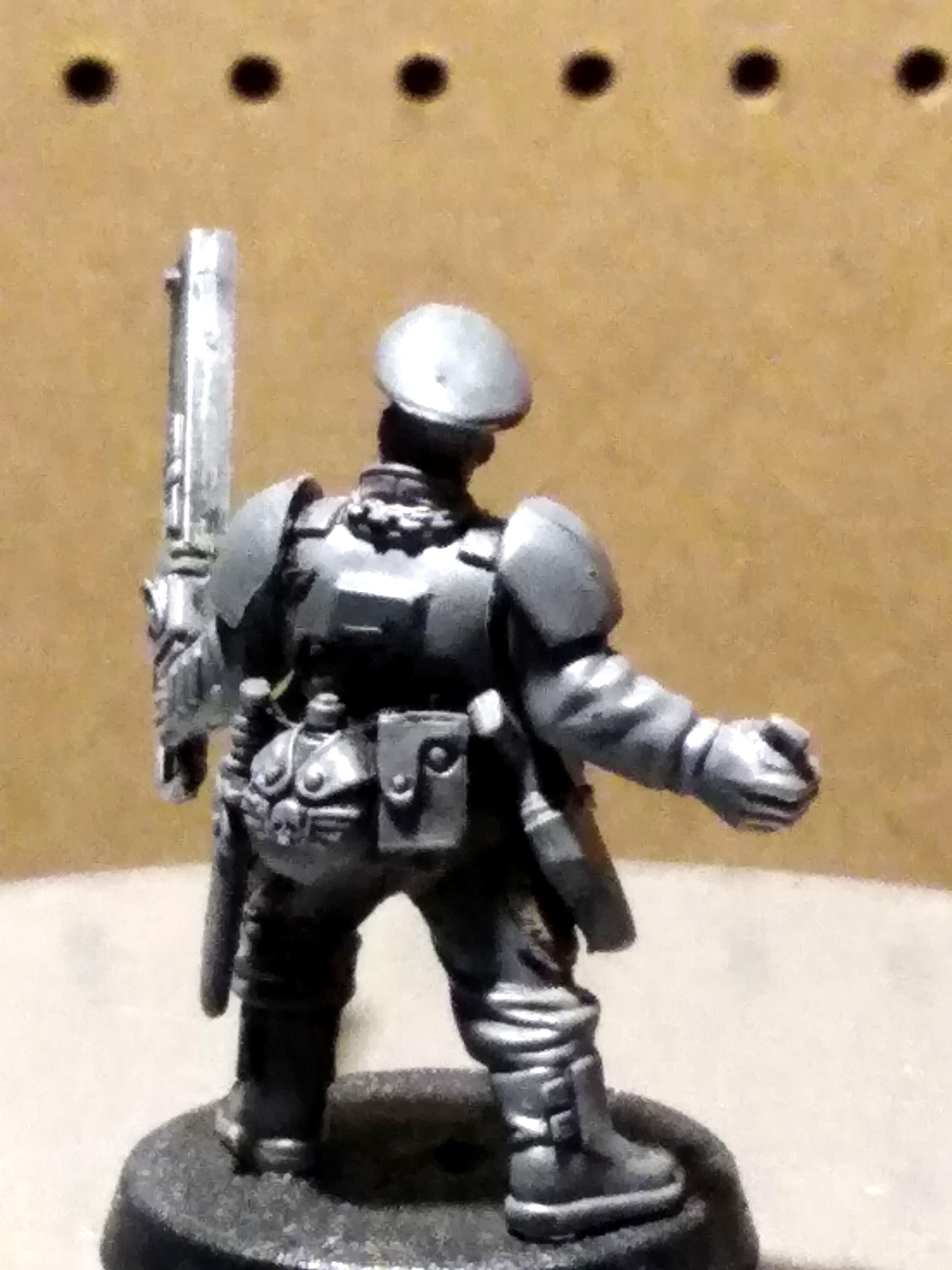 Grenade, Guardsmen, Imperial Guard, Sergeant