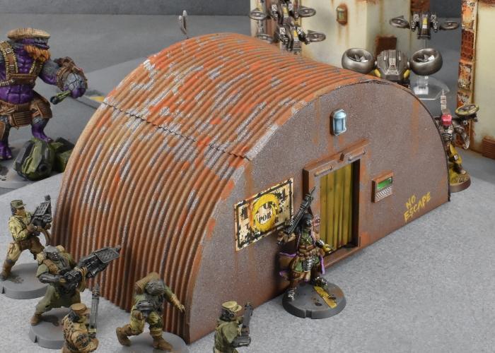 Buildings, Maelstrom's Edge, Medge, Sci Fi, Scratch Build, Terrain