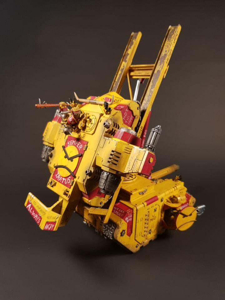 Angry Space Marines, Captain MAGpie's DeepStrike Rhino Launcher!