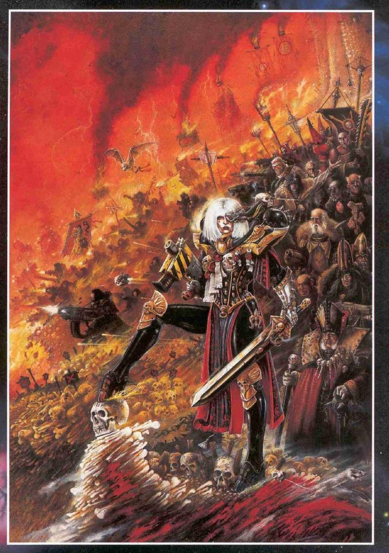 2nd Edition, Cover, Retro Review, Sisters Of Battle