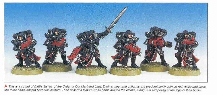 2nd Edition, Retro Review, Sisters Of Battle