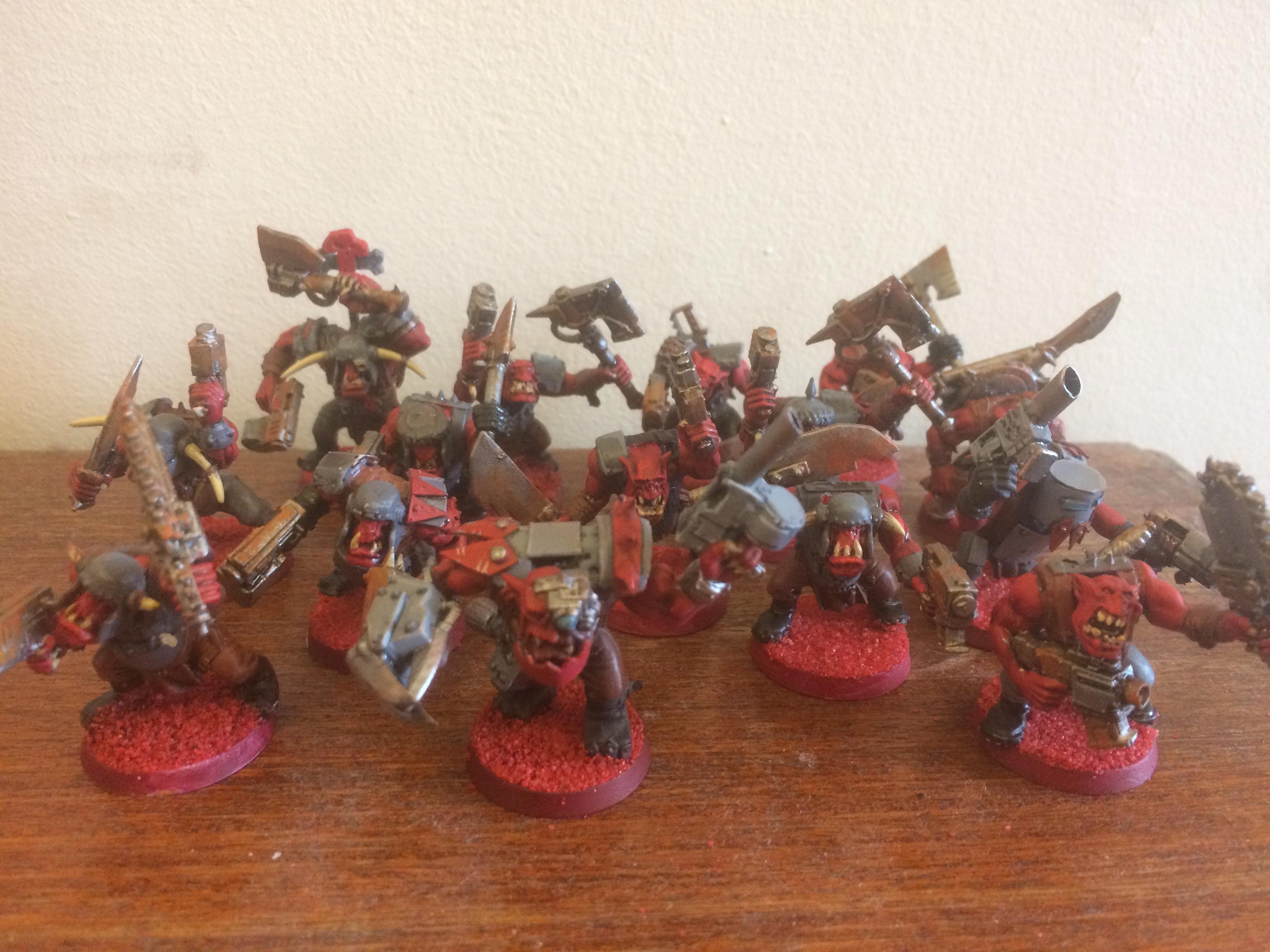 Boy, Orks, Red mob