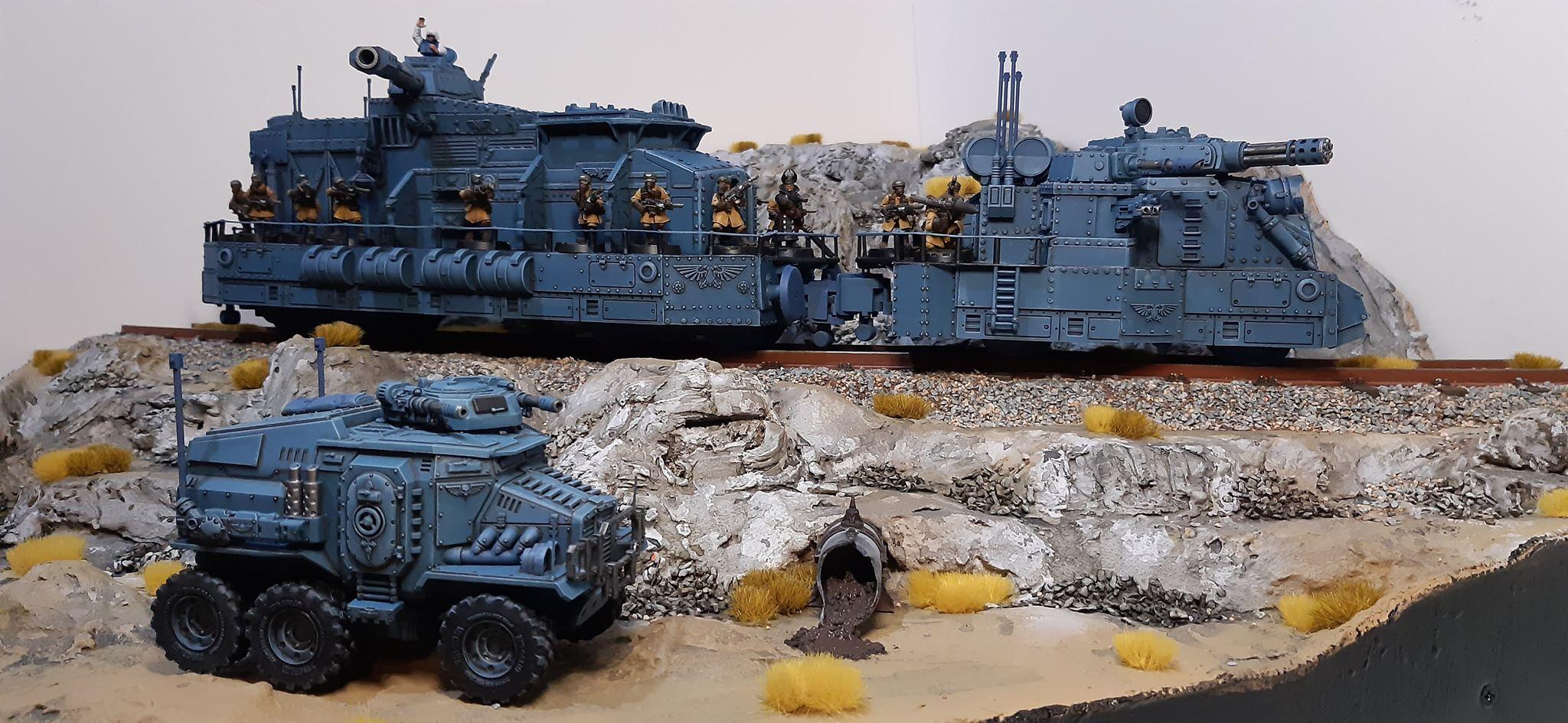 Armored, Imperial Guard, Taurox, Train