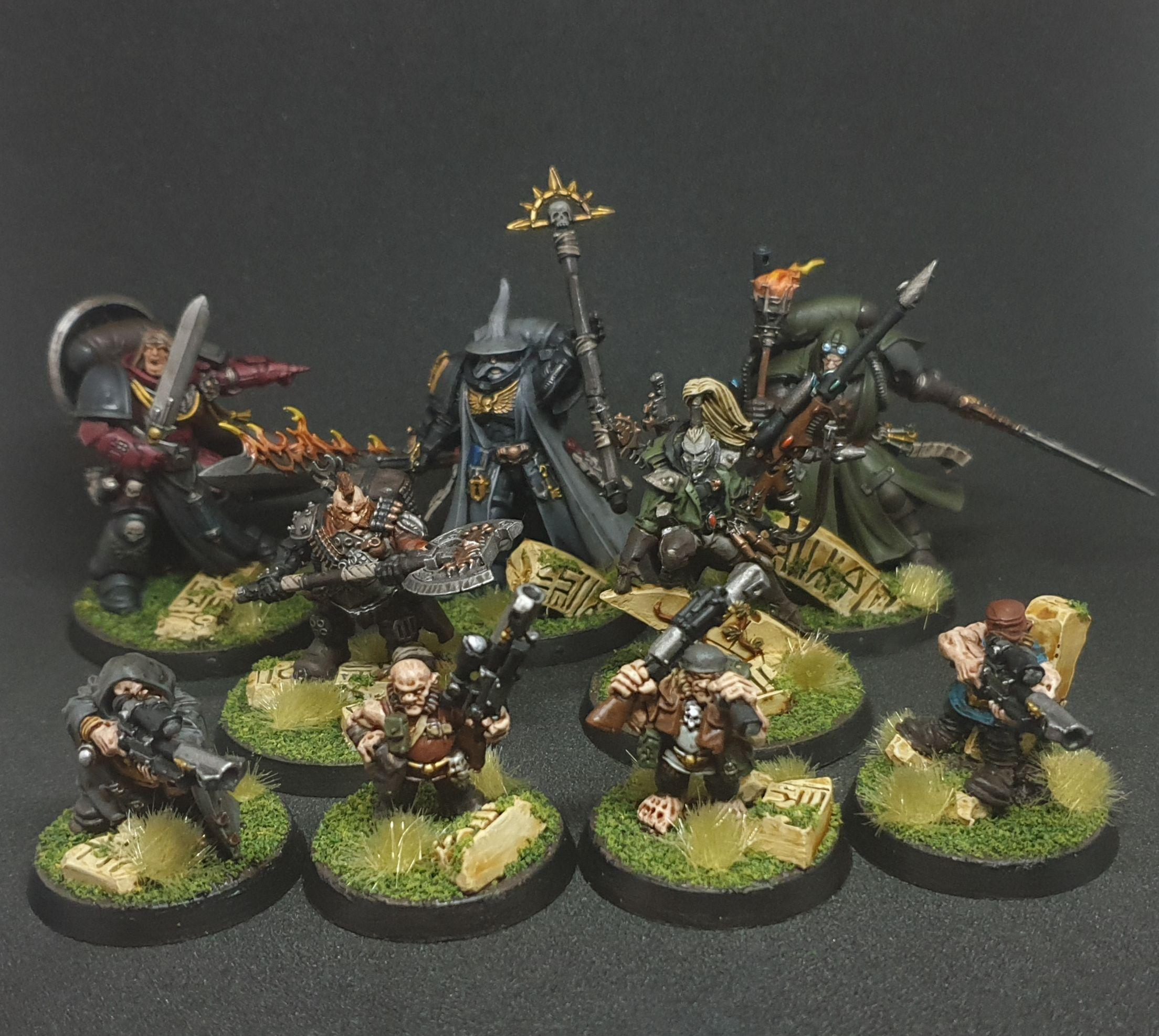 Lord Of The Rings, Ratling, Space Marines, Warhammer 40,000