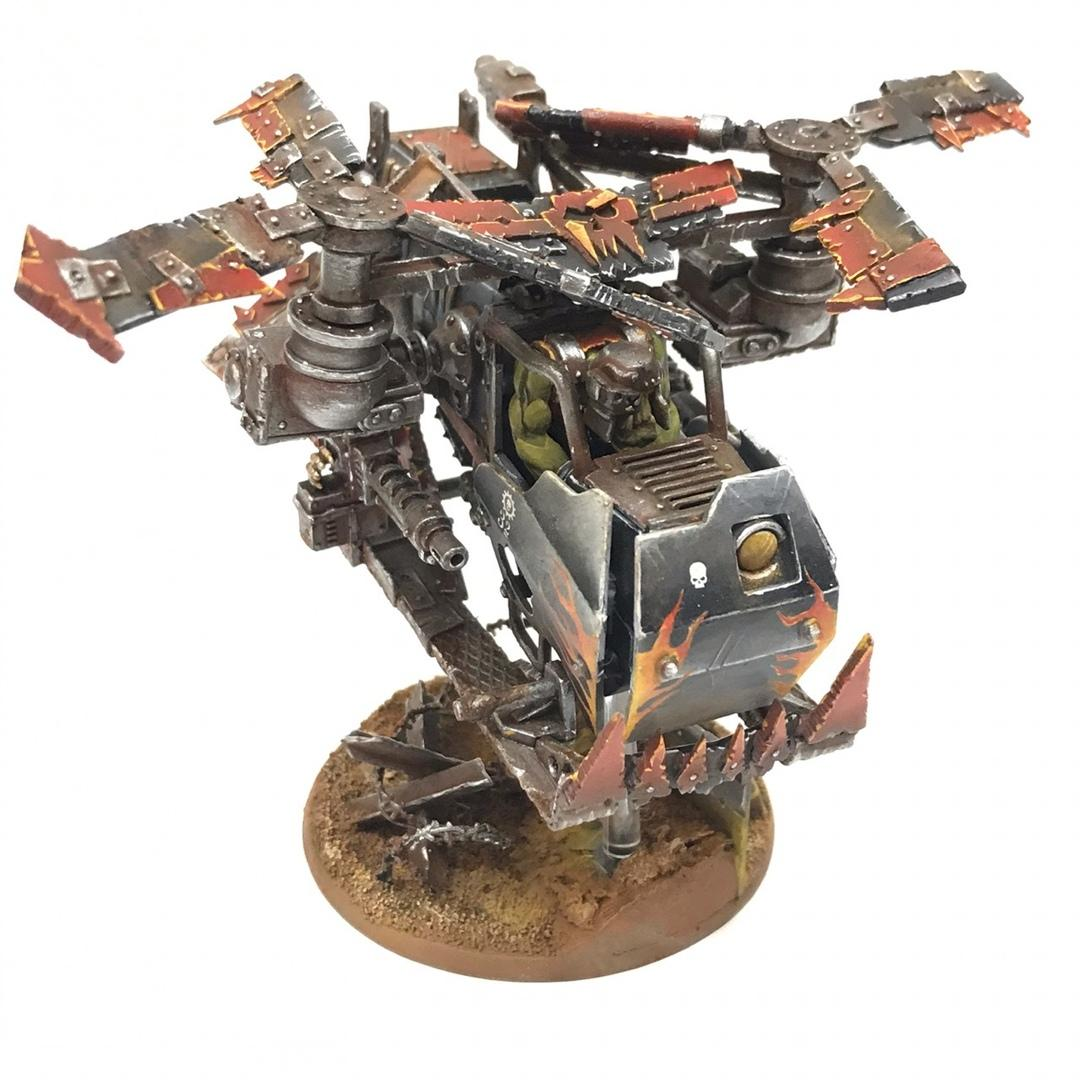 Conversion, Kitbash, Orks, Scratch Build, Warhammer 40,000, Warhammer Fantasy