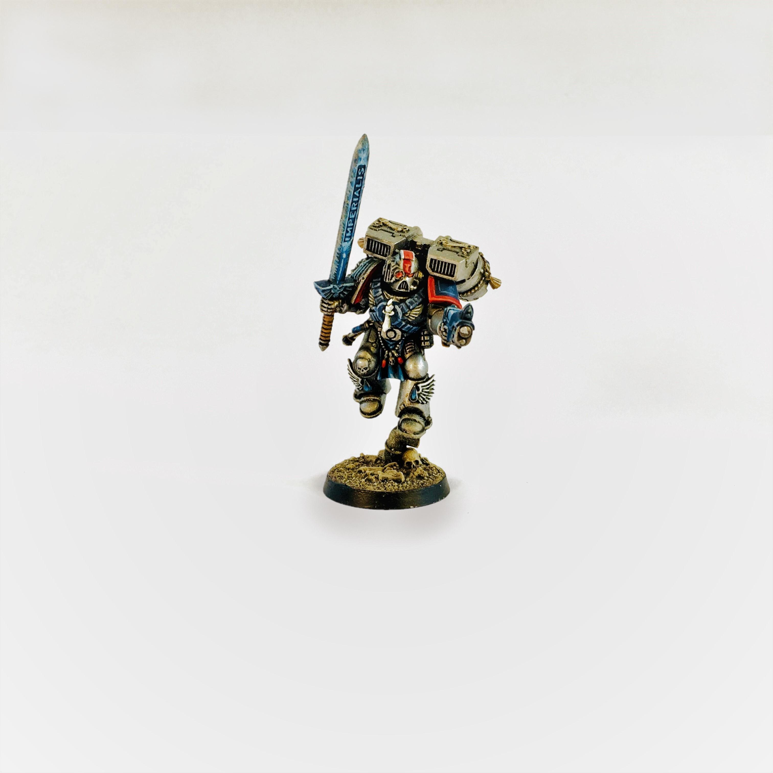 Antor Delassio, Blood Angels, Brotherhood Of The Sword, Conversion, Deathwatch, Lieutenant, Space Marines