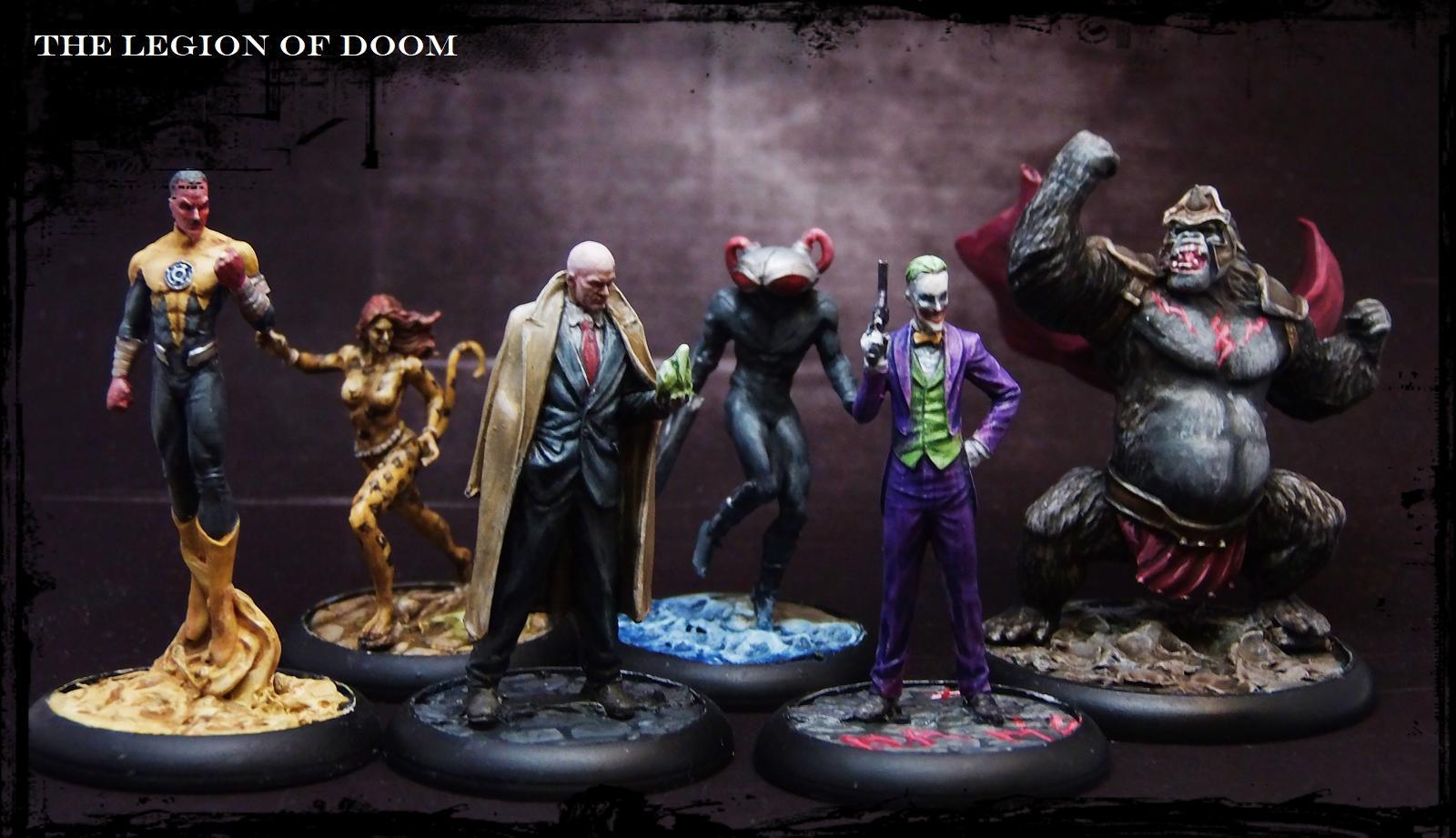 Comic, Dc, Justice League, Knight Models, Superheroes