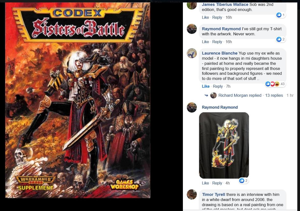 2nd Edition, Codex, John Blanche, Sisters Of Battle