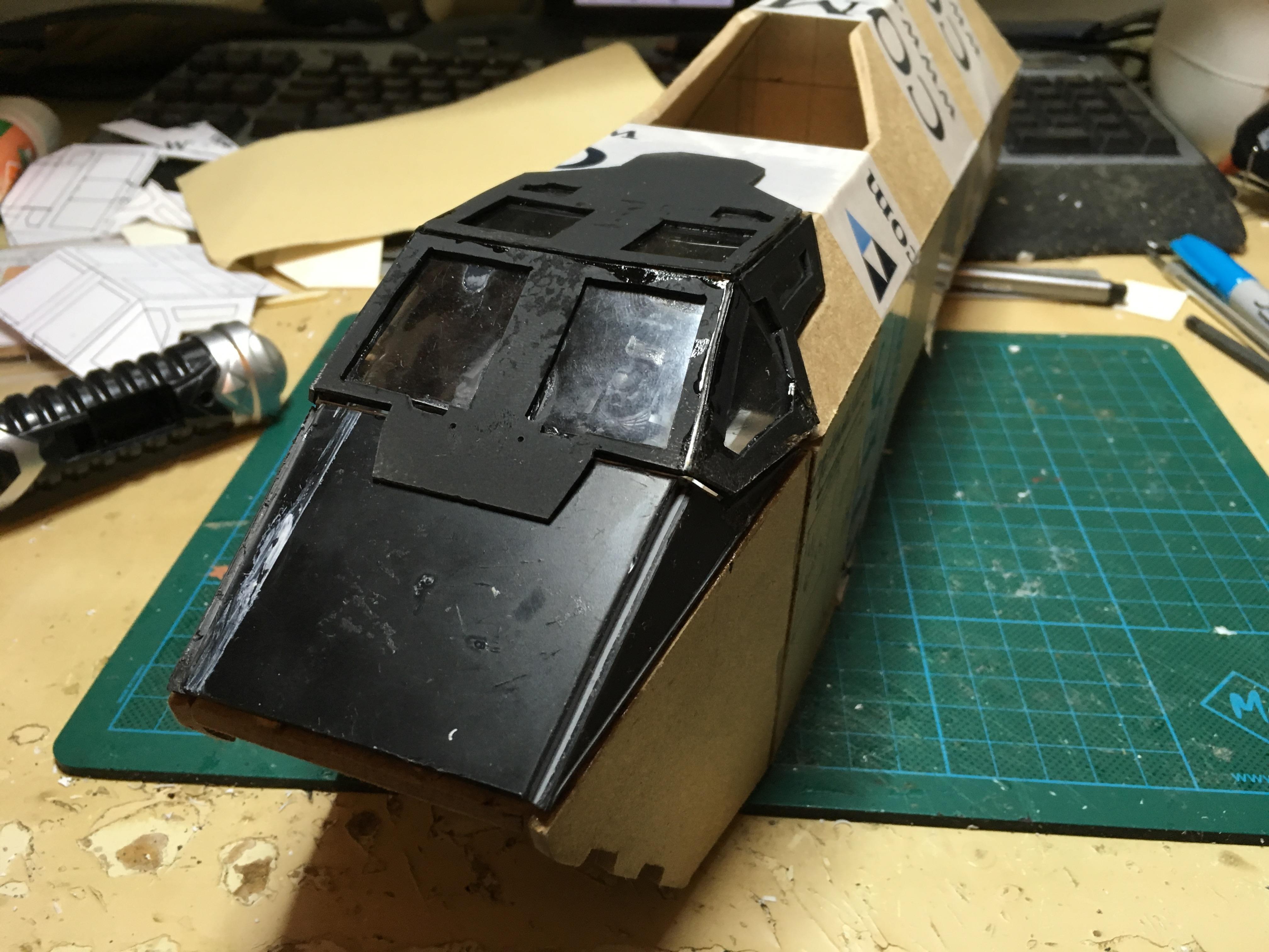 Scratch Build, Space Marines, Thunderhawk Gunship, Warhammer 40,000, Work In Progress