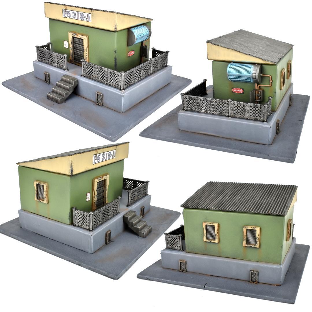 Buildings, Medge, Terrain, Terrain Sprue