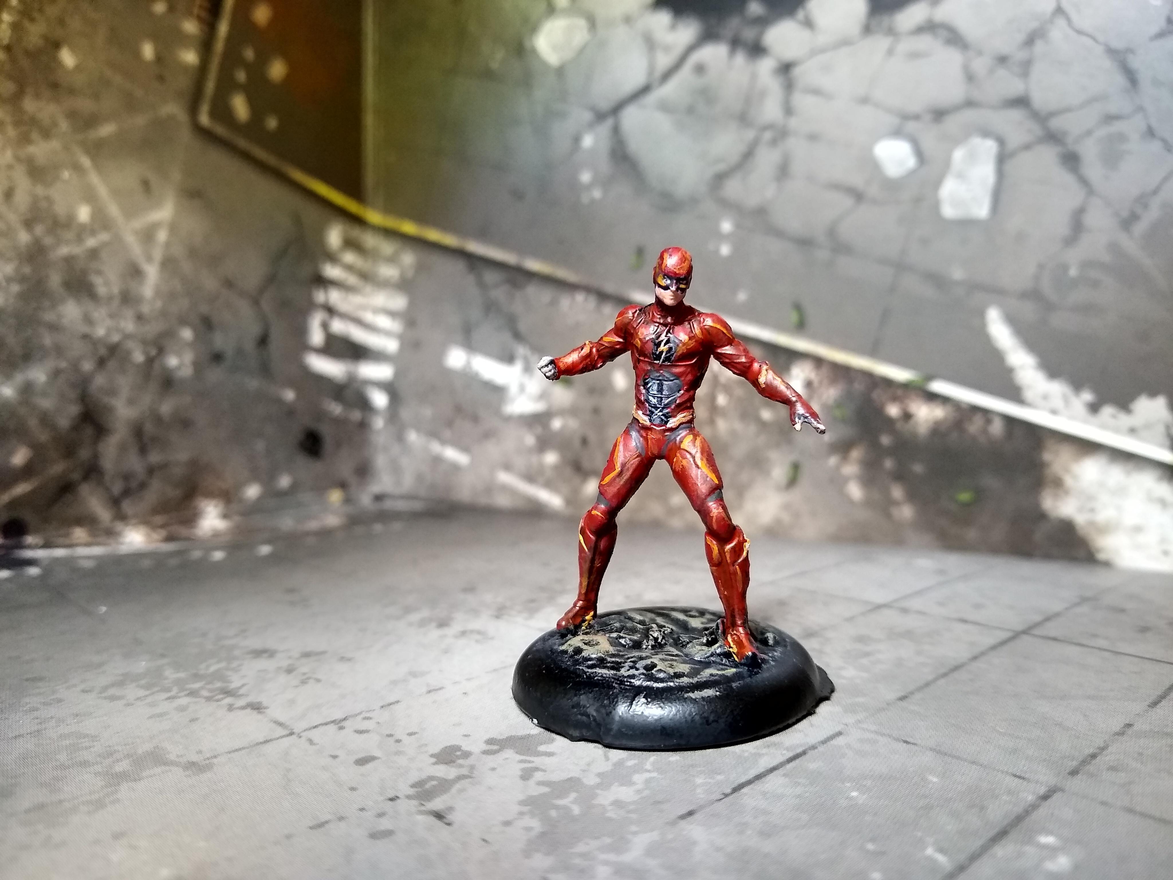 Ezra Miller Flash JL