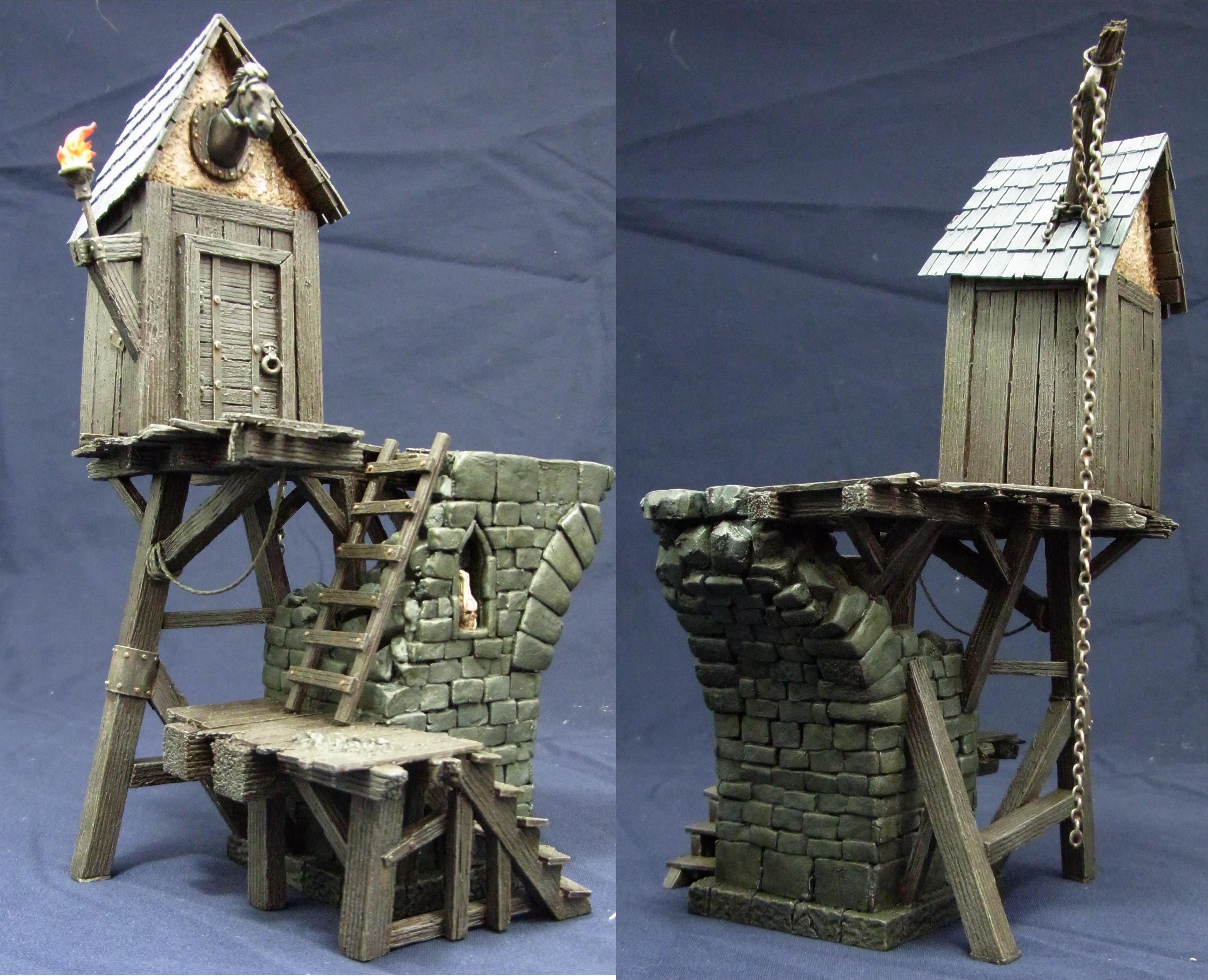 Buildings, Mordheim, Terrain, Tower