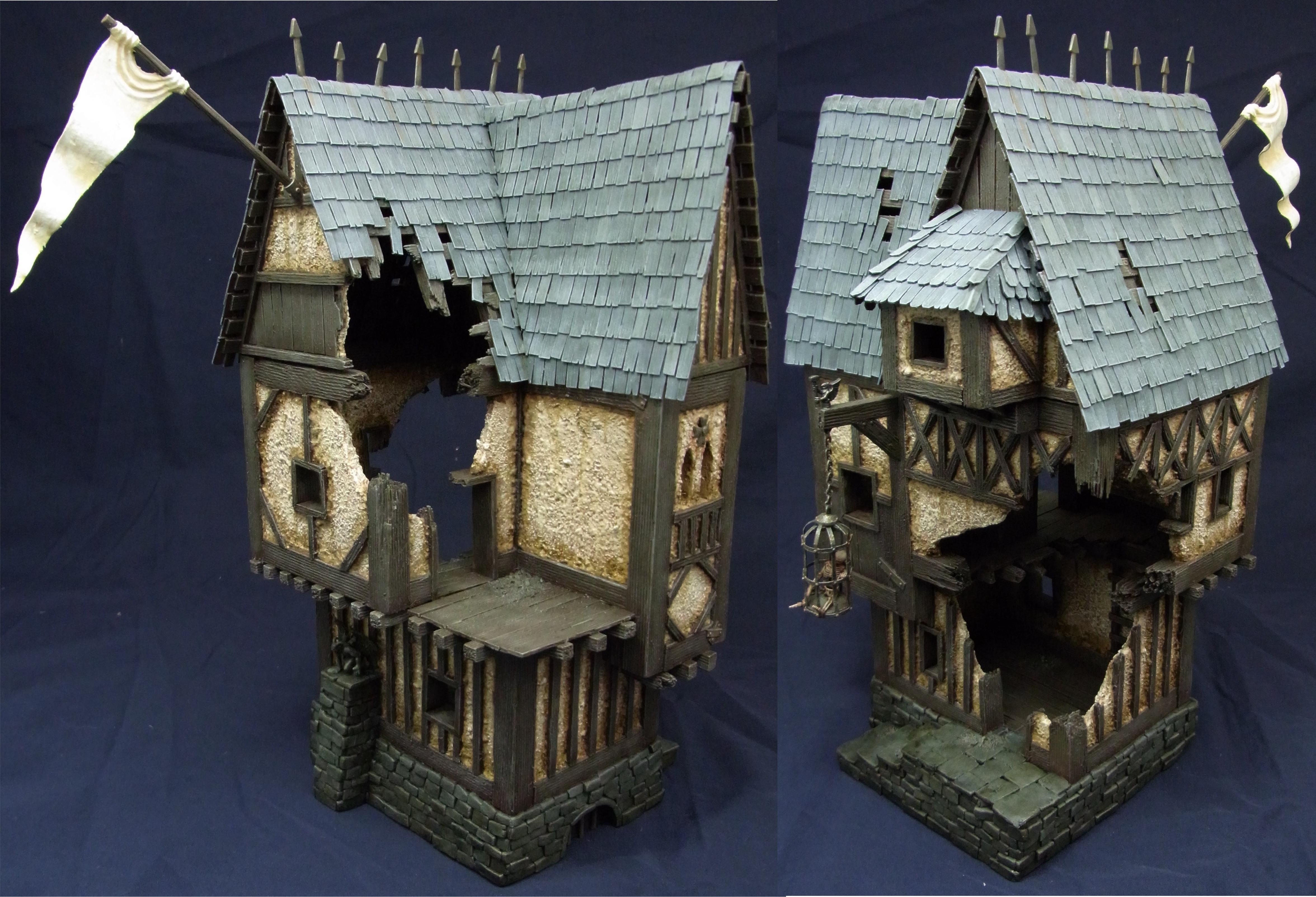 Mordheim, Terrain, 1 - House