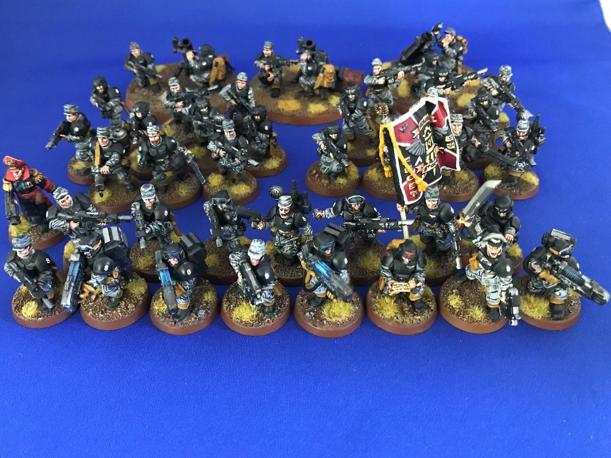 Astra Militarum, Imperial Guard, Necromundian 8th, Platoon, The Spiders