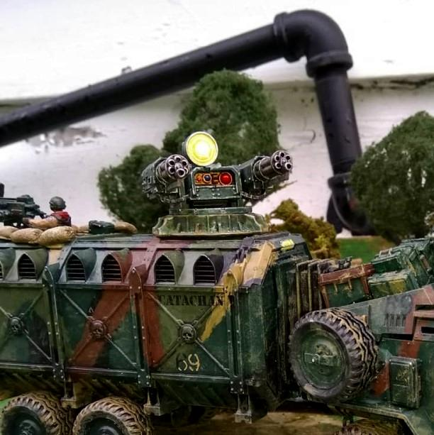 Apc, Assault Cannon, Canyonero, Catachan, Imperial Guard, Kitbash, Road-train