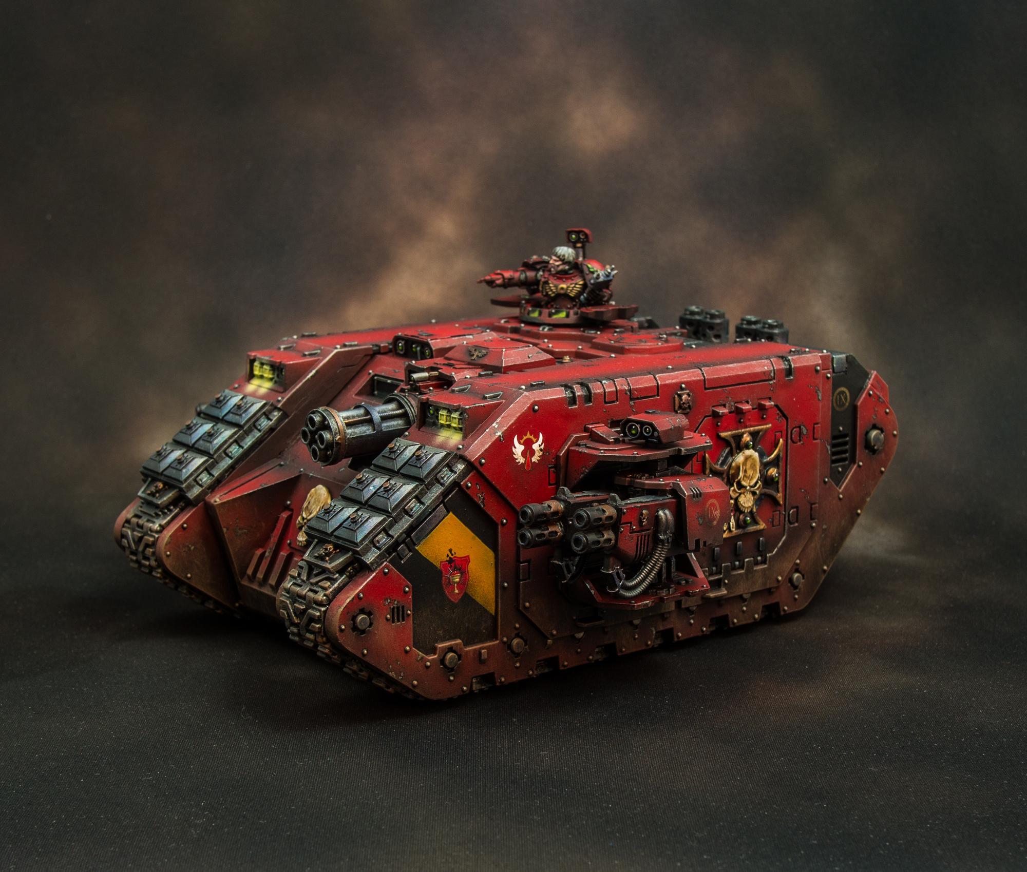 Blood Angels, Land Raider, Space Marines, Warhammer 40,000