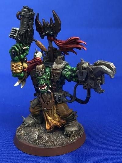 Orks, Warboss, Ork Warboss