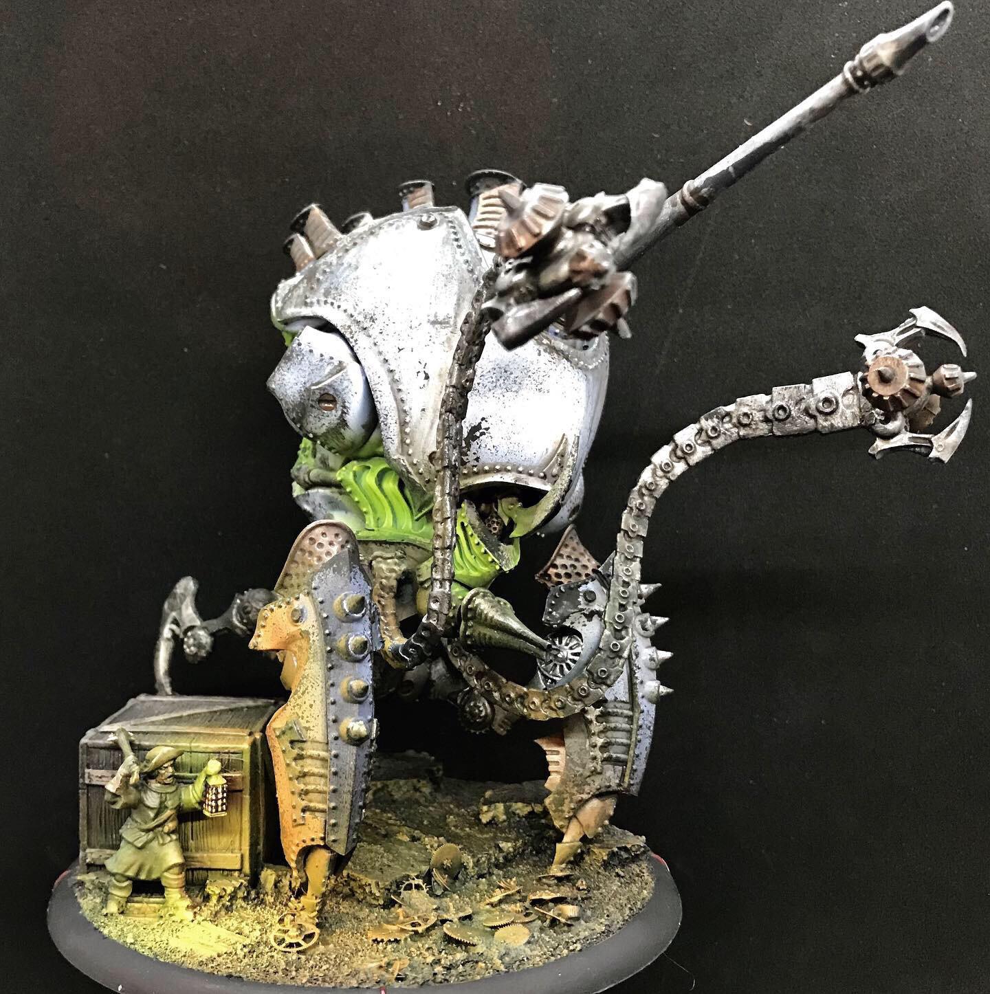 Warmachine Kraken by Stevefamine