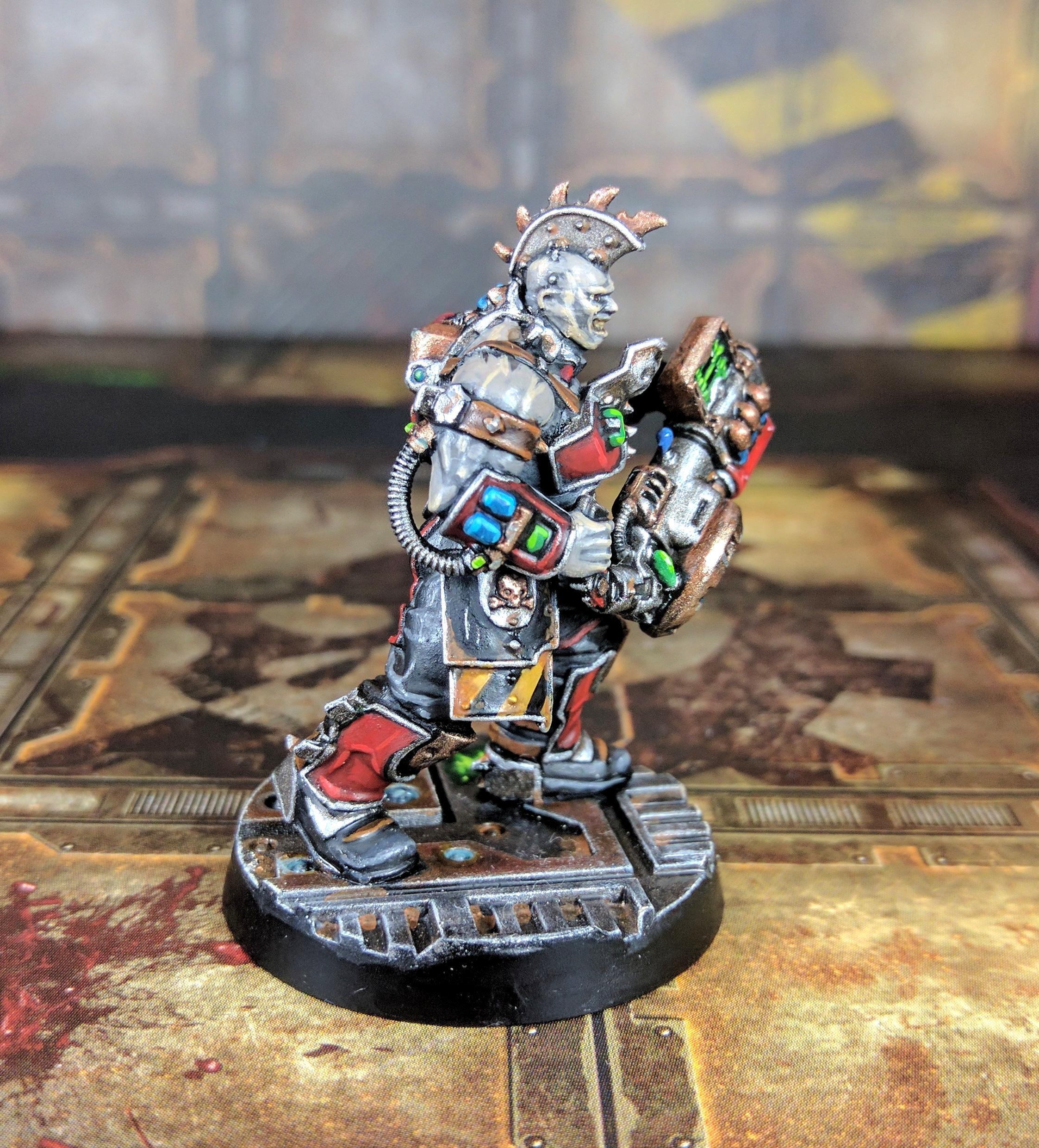 Necromunda Hourse Goliath Gang